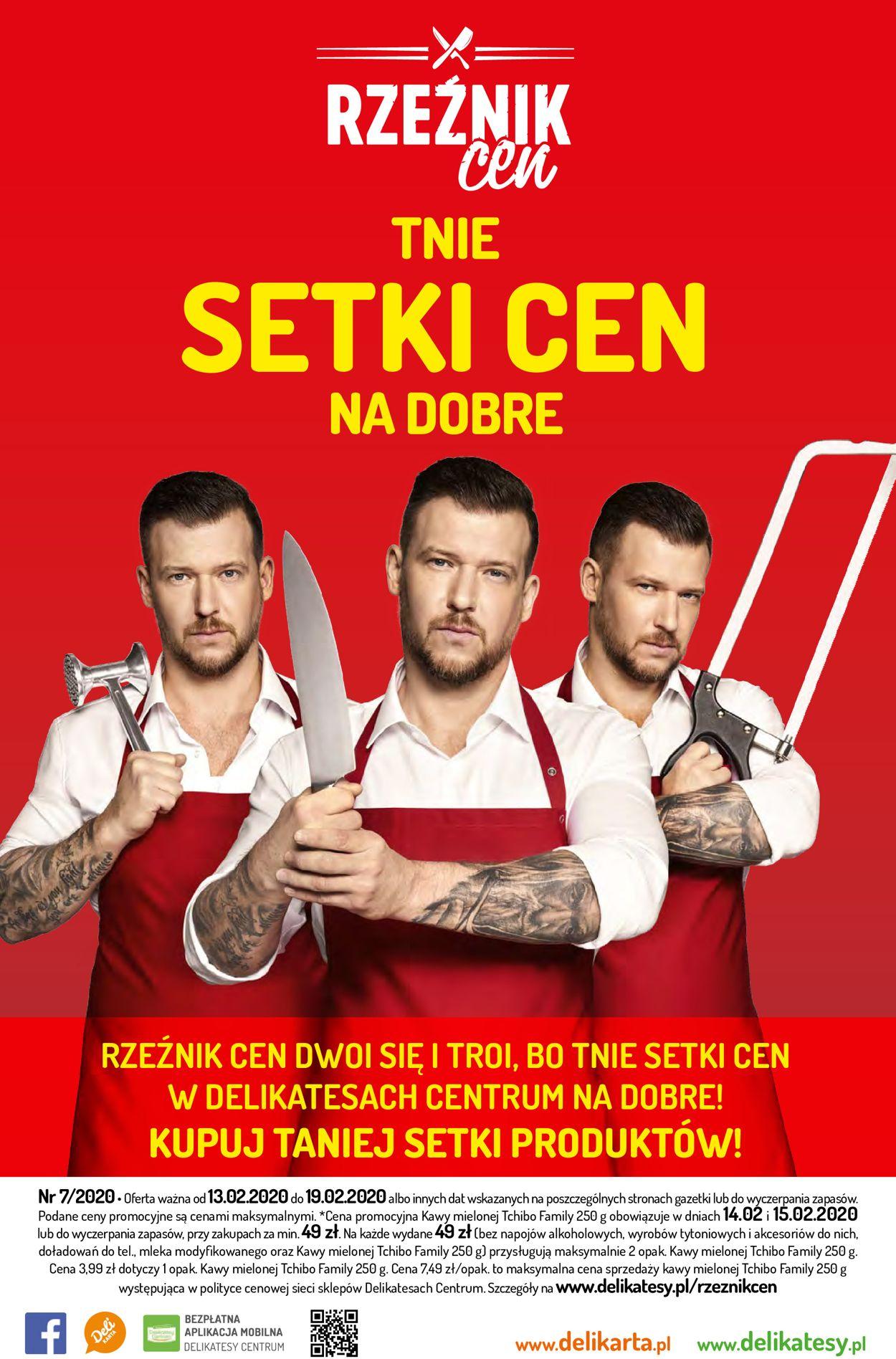Gazetka promocyjna Delikatesy Centrum - 13.02-19.02.2020 (Strona 28)