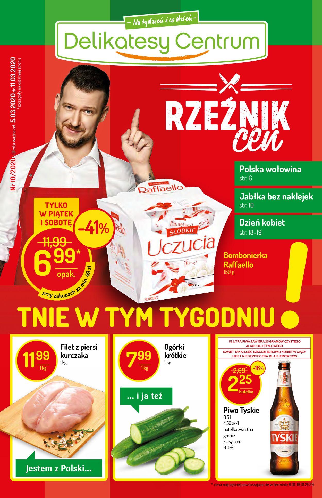 Gazetka promocyjna Delikatesy Centrum - 05.03-11.03.2020