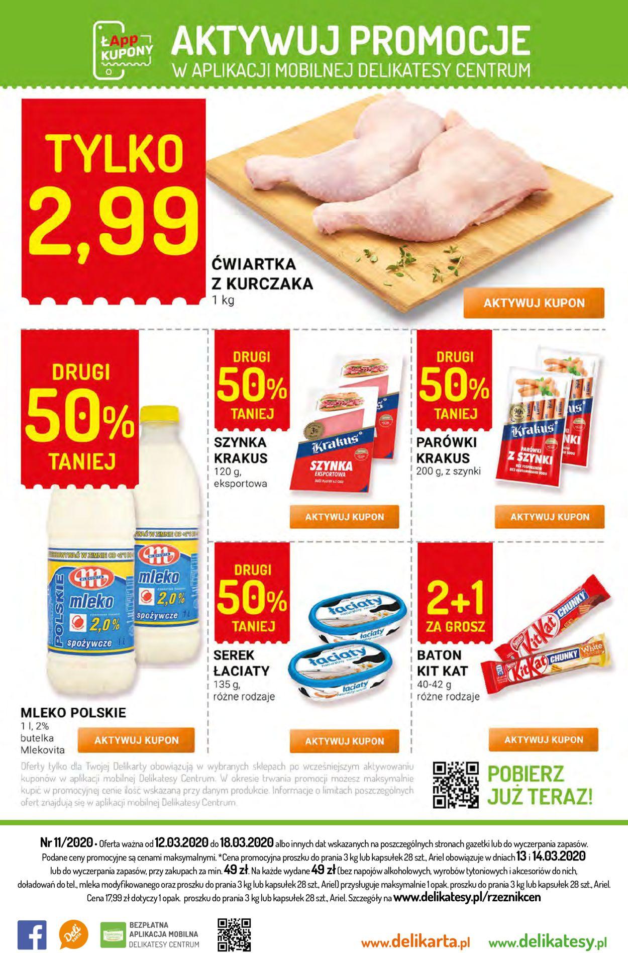 Gazetka promocyjna Delikatesy Centrum - 12.03-18.03.2020 (Strona 28)
