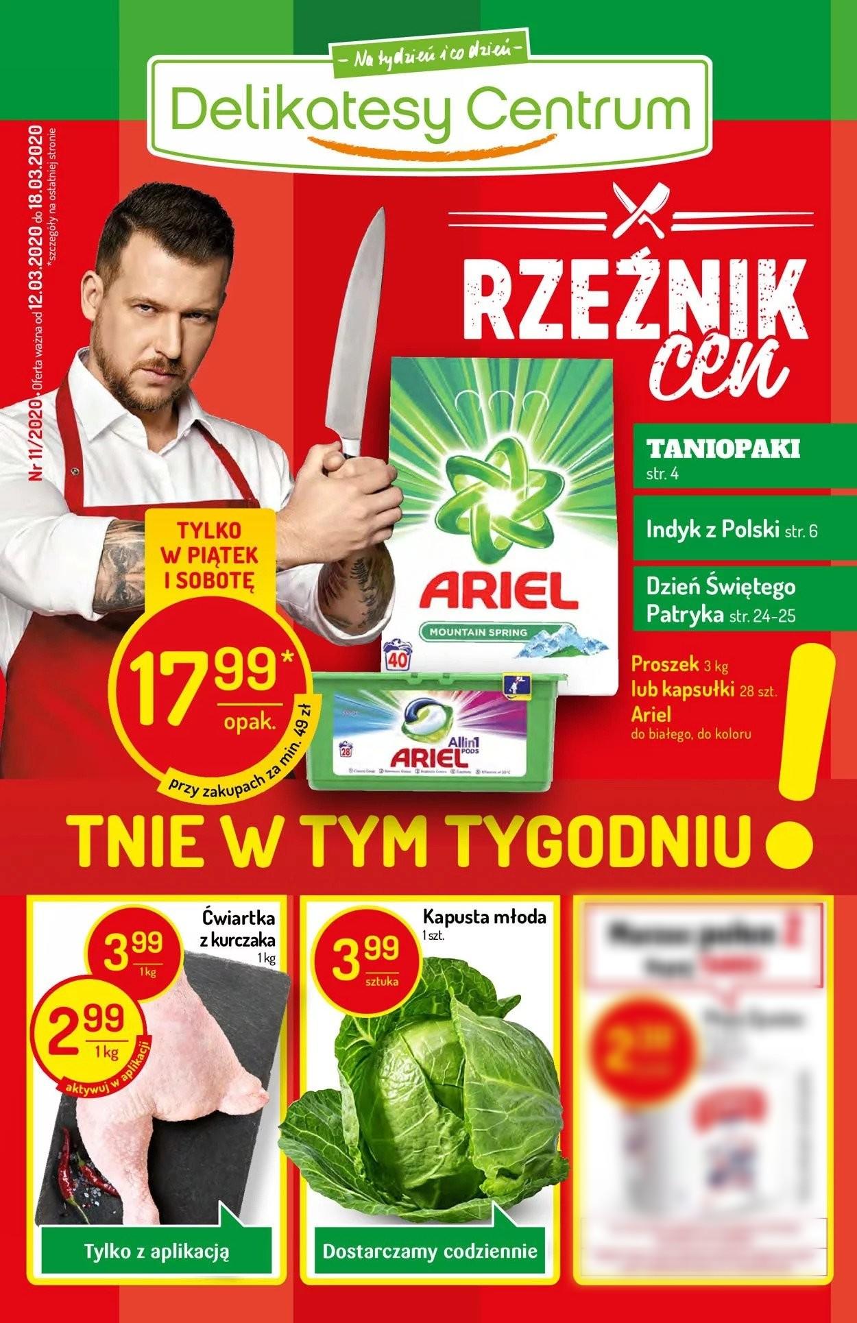 Gazetka promocyjna Delikatesy Centrum - 12.03-18.03.2020