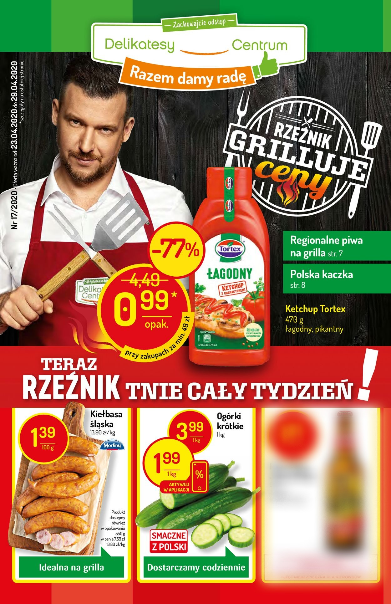 Gazetka promocyjna Delikatesy Centrum - 23.04-29.04.2020