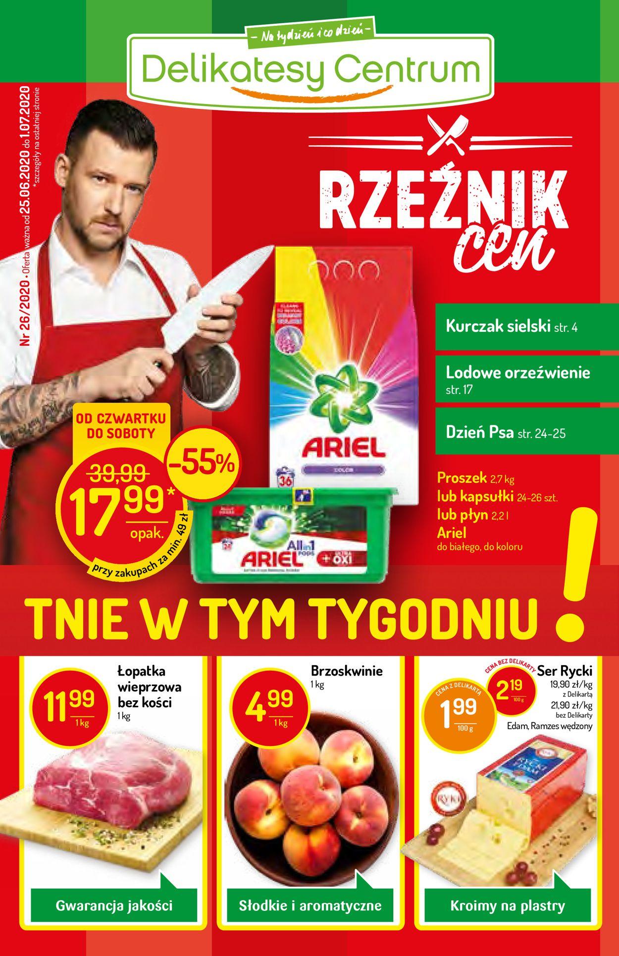 Gazetka promocyjna Delikatesy Centrum - 25.06-01.07.2020