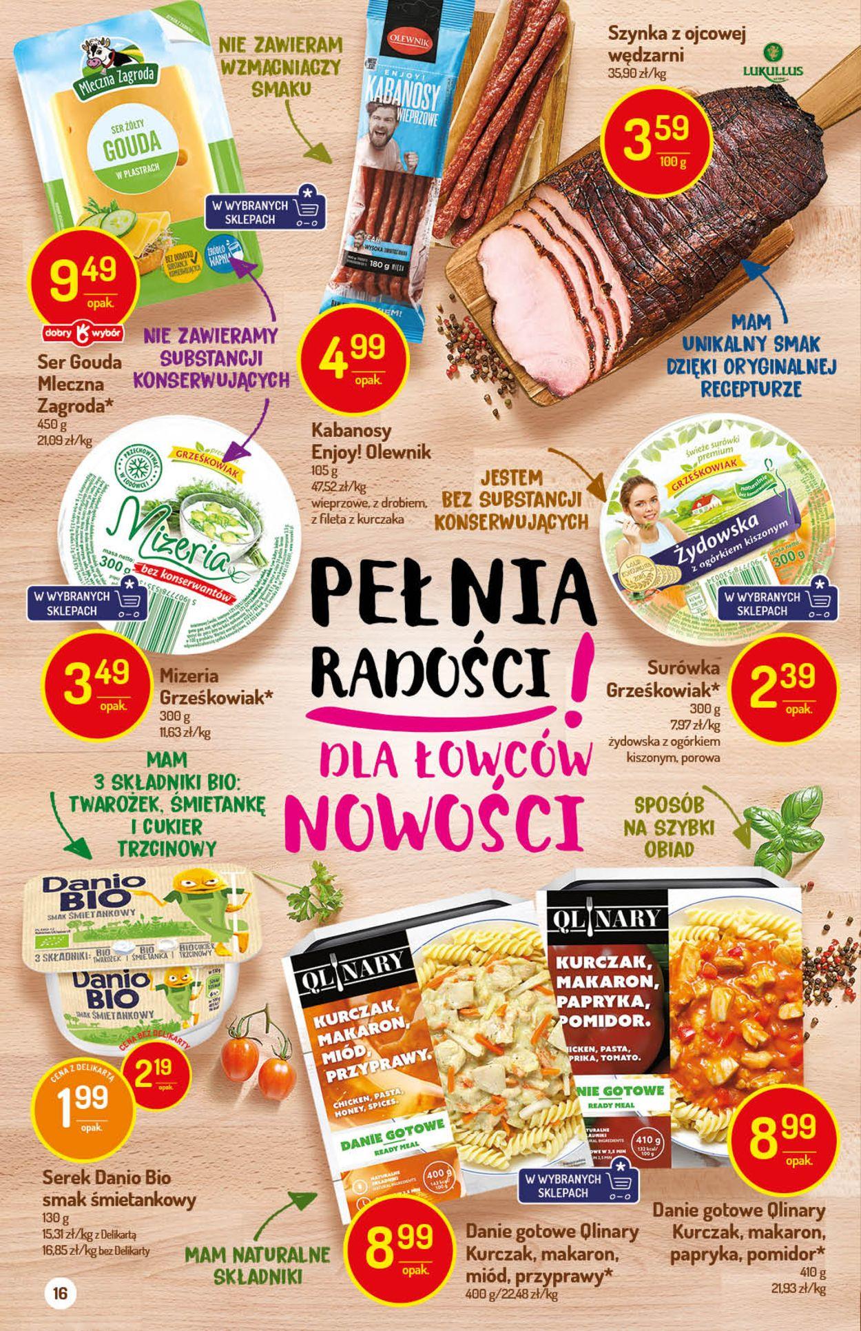 Gazetka promocyjna Delikatesy Centrum - 30.07-05.08.2020 (Strona 16)