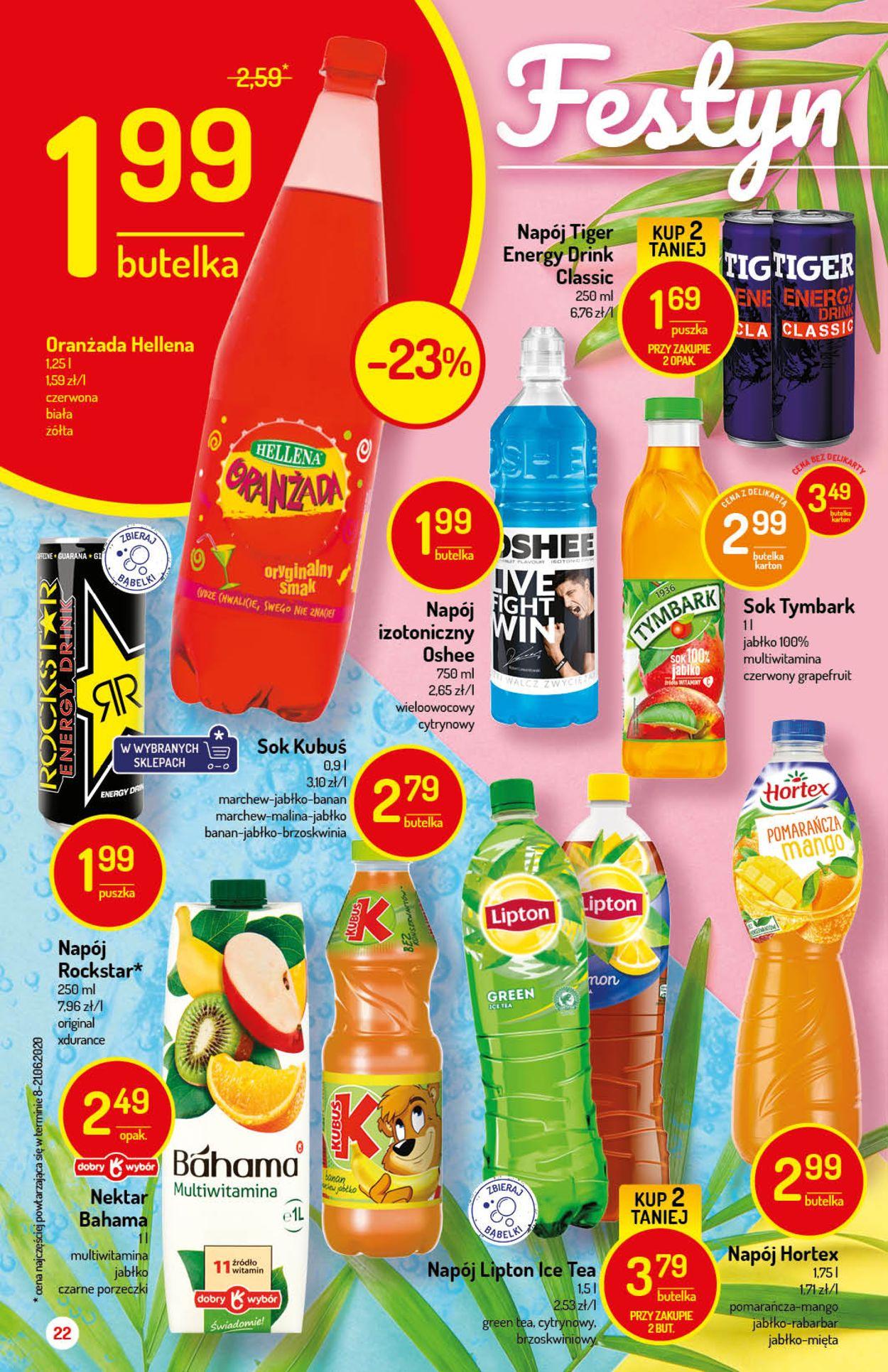 Gazetka promocyjna Delikatesy Centrum - 06.08-12.08.2020 (Strona 22)