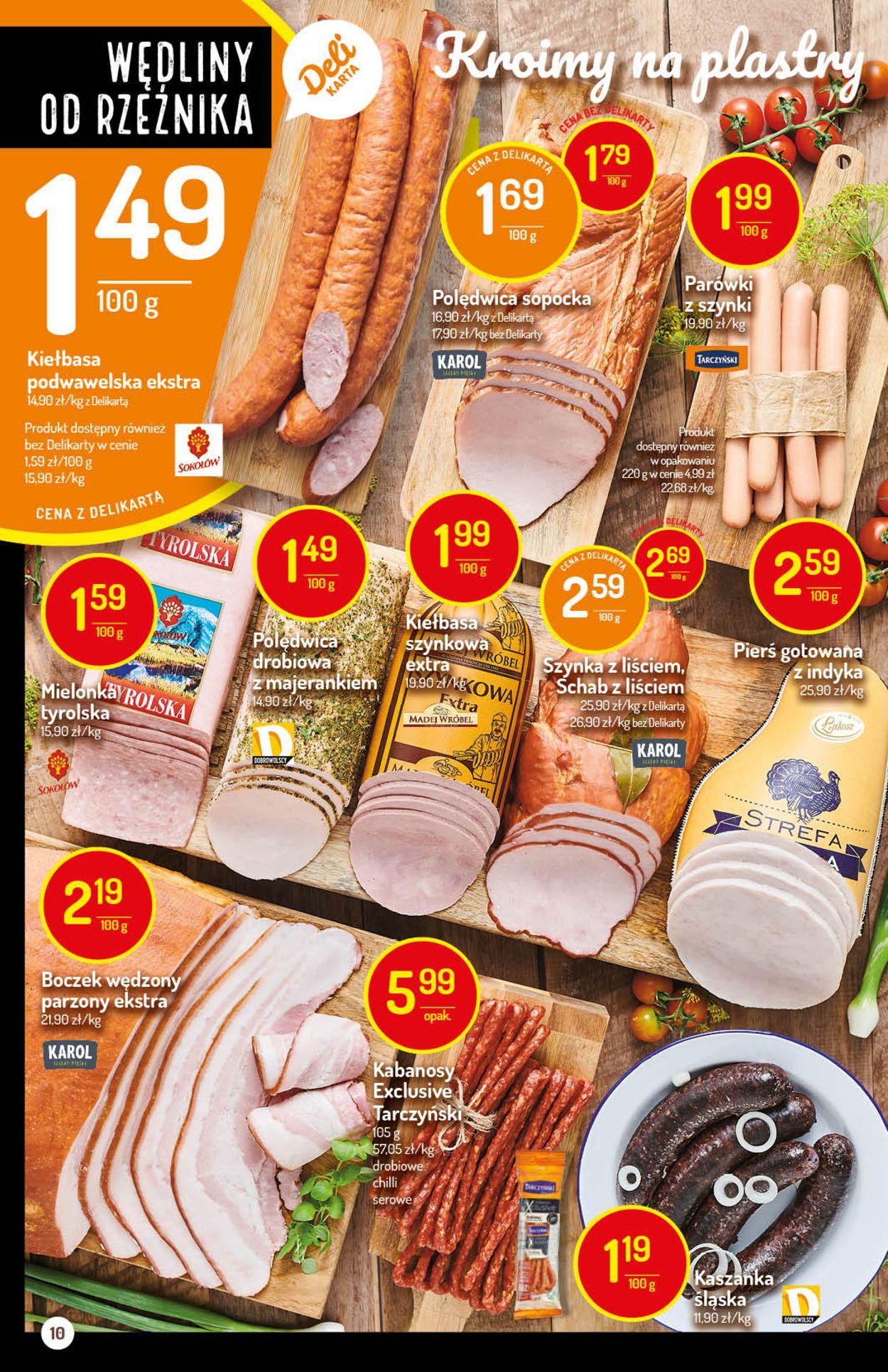 Gazetka promocyjna Delikatesy Centrum - 13.08-19.08.2020 (Strona 10)