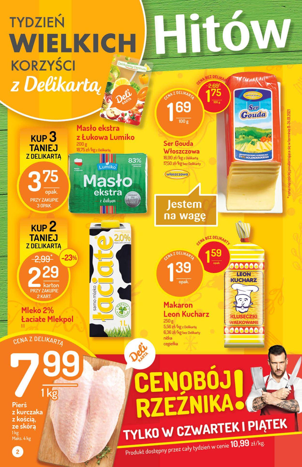 Gazetka promocyjna Delikatesy Centrum - 18.03-23.03.2021 (Strona 2)