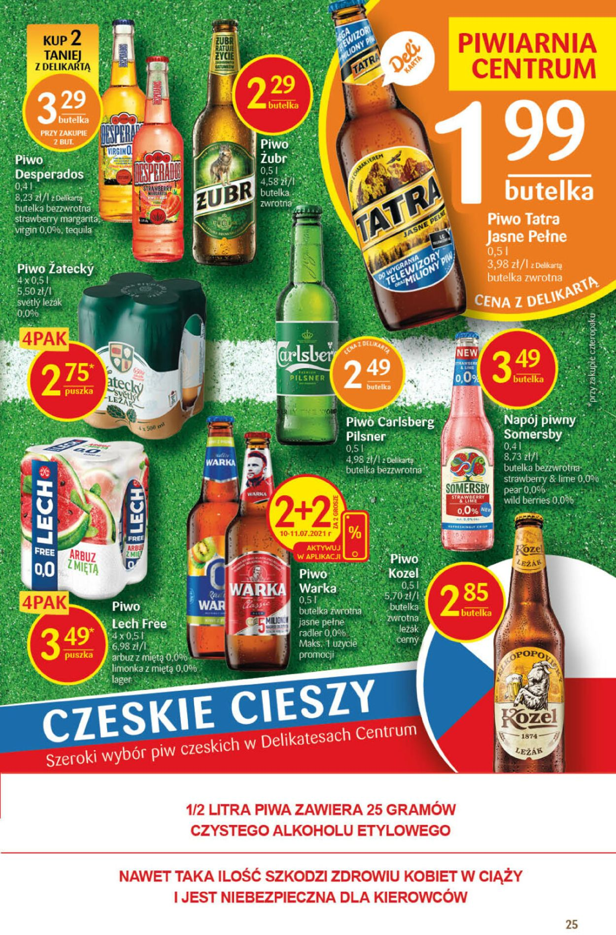 Gazetka promocyjna Delikatesy Centrum - 08.07-14.07.2021 (Strona 25)