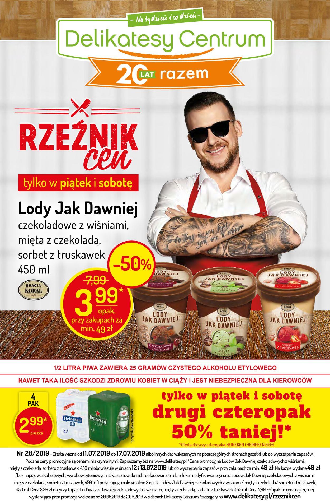 Gazetka promocyjna Delikatesy Centrum - 11.07-17.07.2019