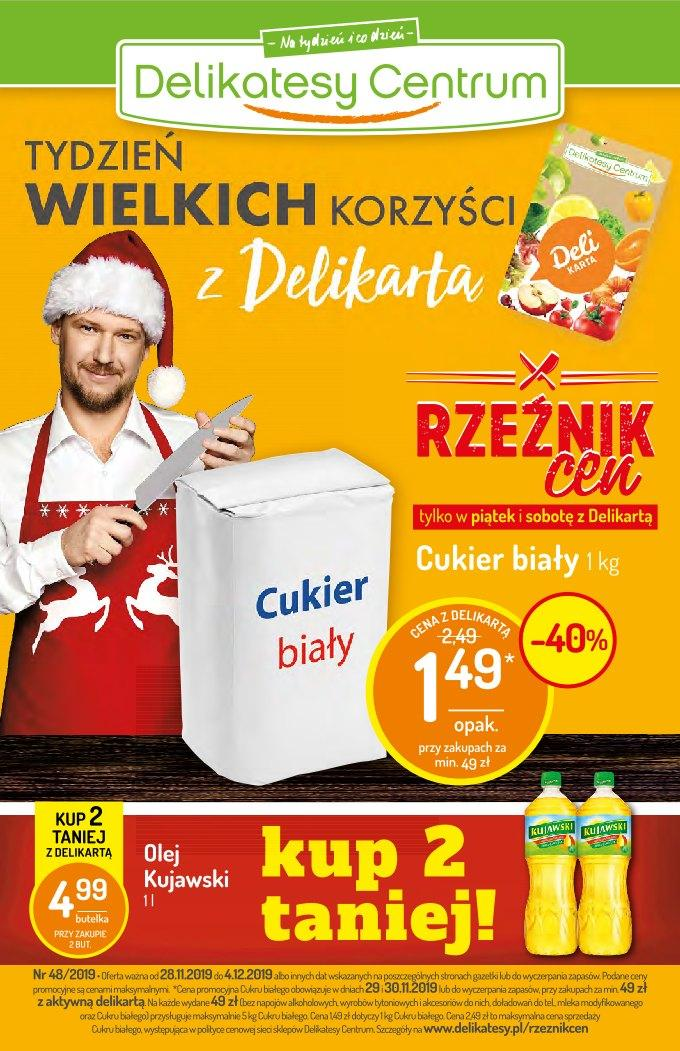 Gazetka promocyjna Delikatesy Centrum - 28.11-04.12.2019