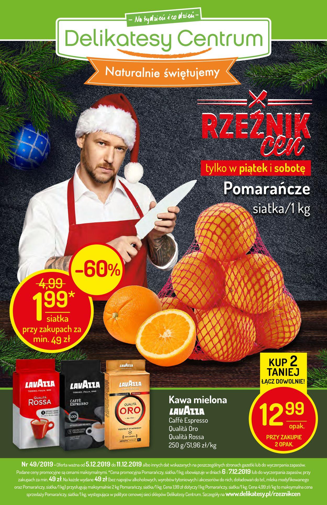 Gazetka promocyjna Delikatesy Centrum - 05.12-11.12.2019