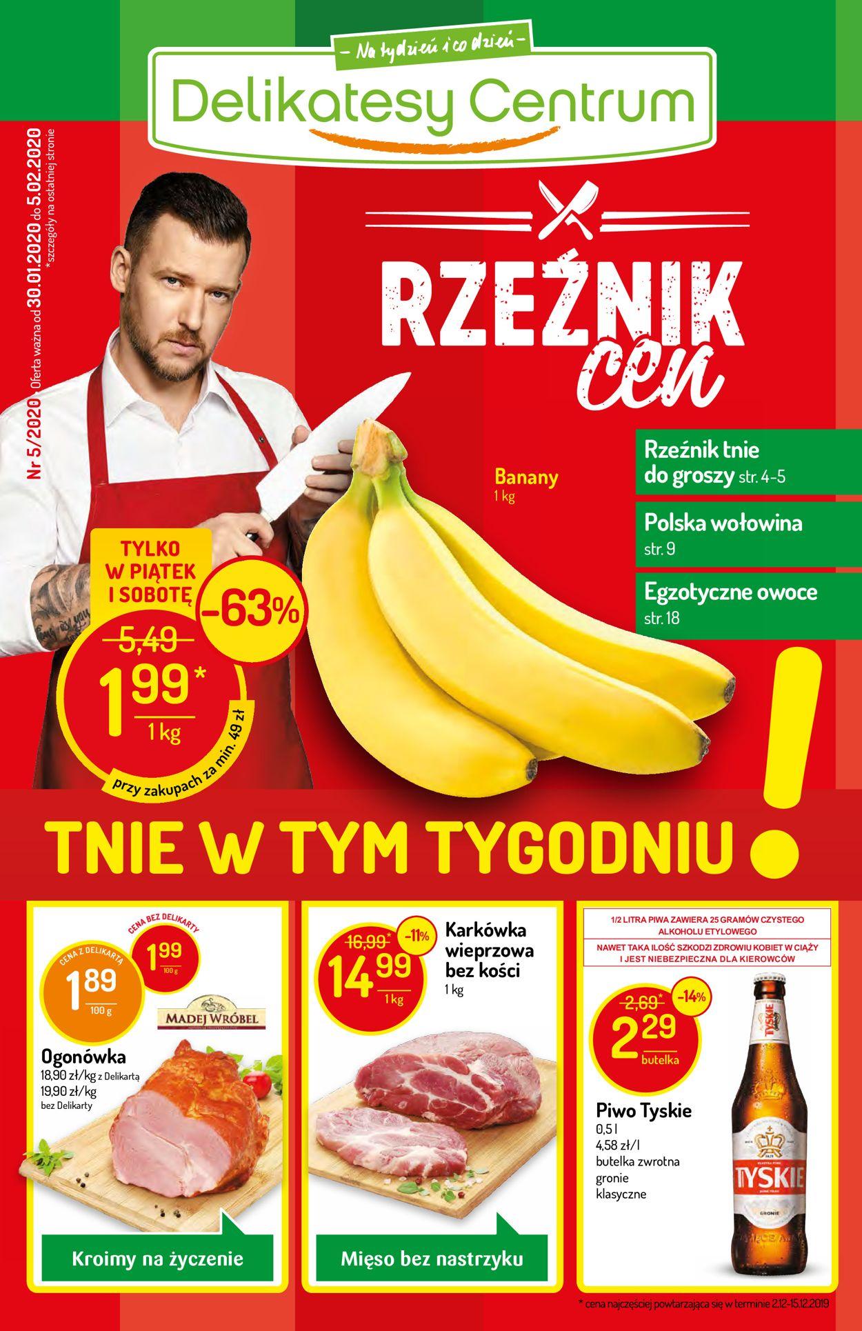 Gazetka promocyjna Delikatesy Centrum - 30.01-05.02.2020