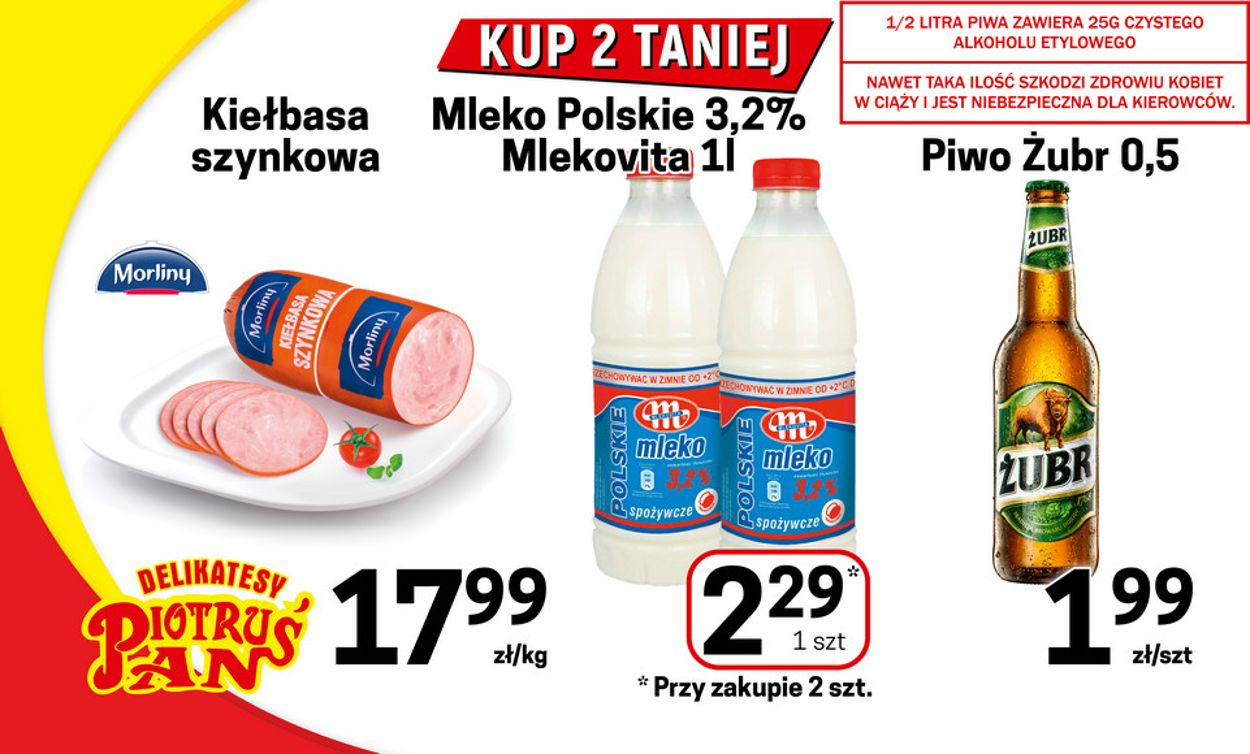 Gazetka promocyjna Delikatesy Piotruś Pan - 07.04-14.04.2021