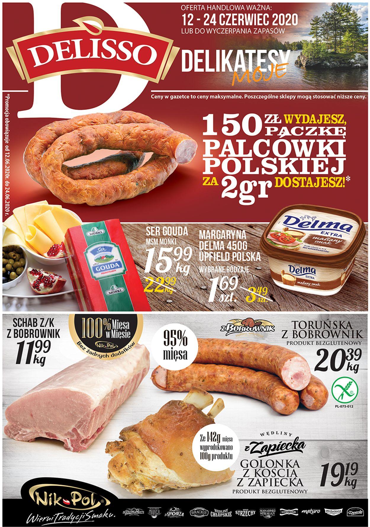 Gazetka promocyjna Delisso - 12.06-24.06.2020