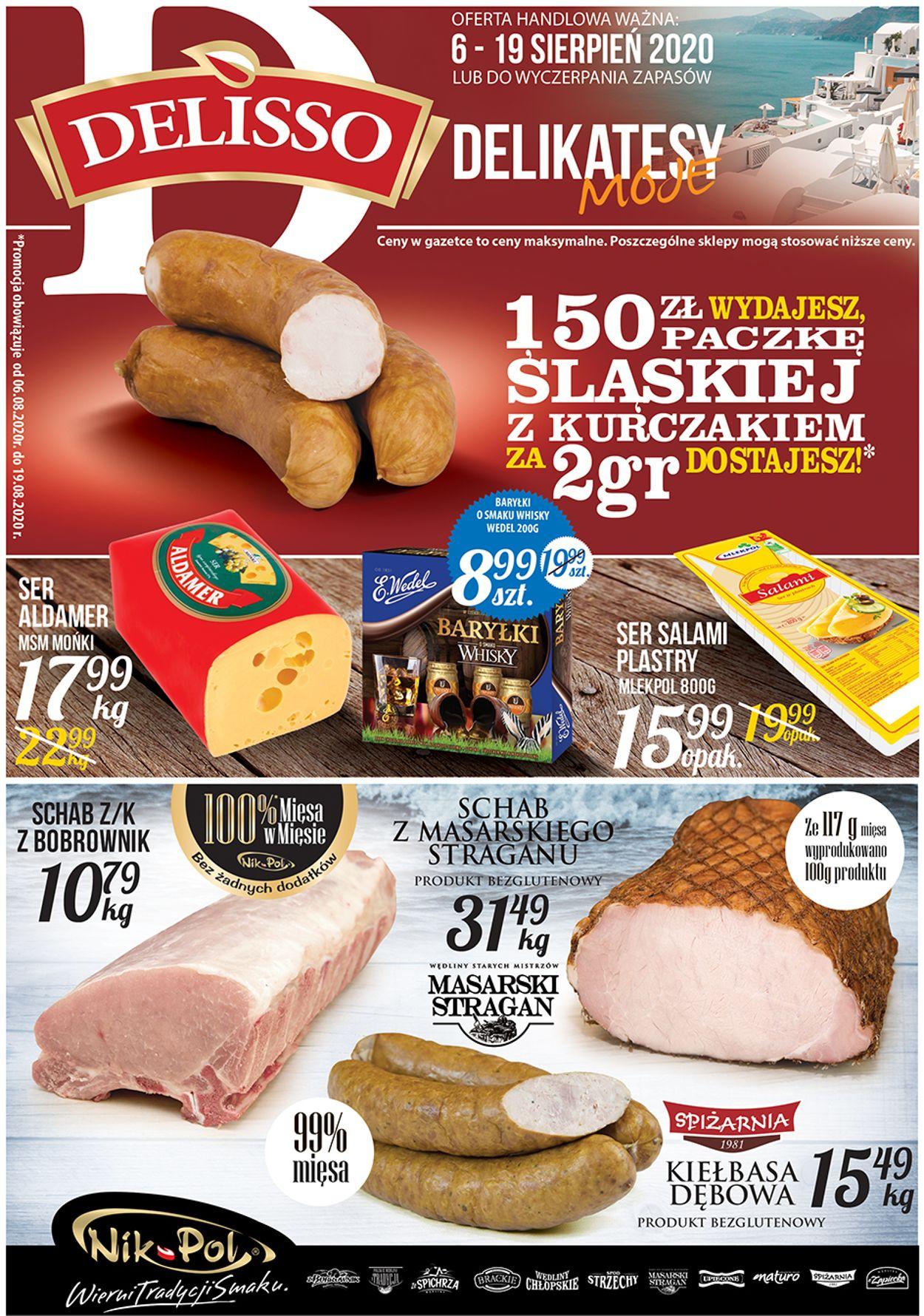 Gazetka promocyjna Delisso - 06.08-19.08.2020