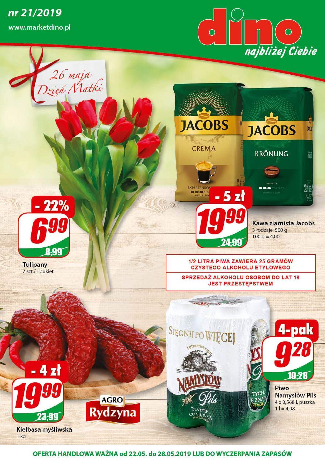 Gazetka promocyjna Dino - 22.05-28.05.2019
