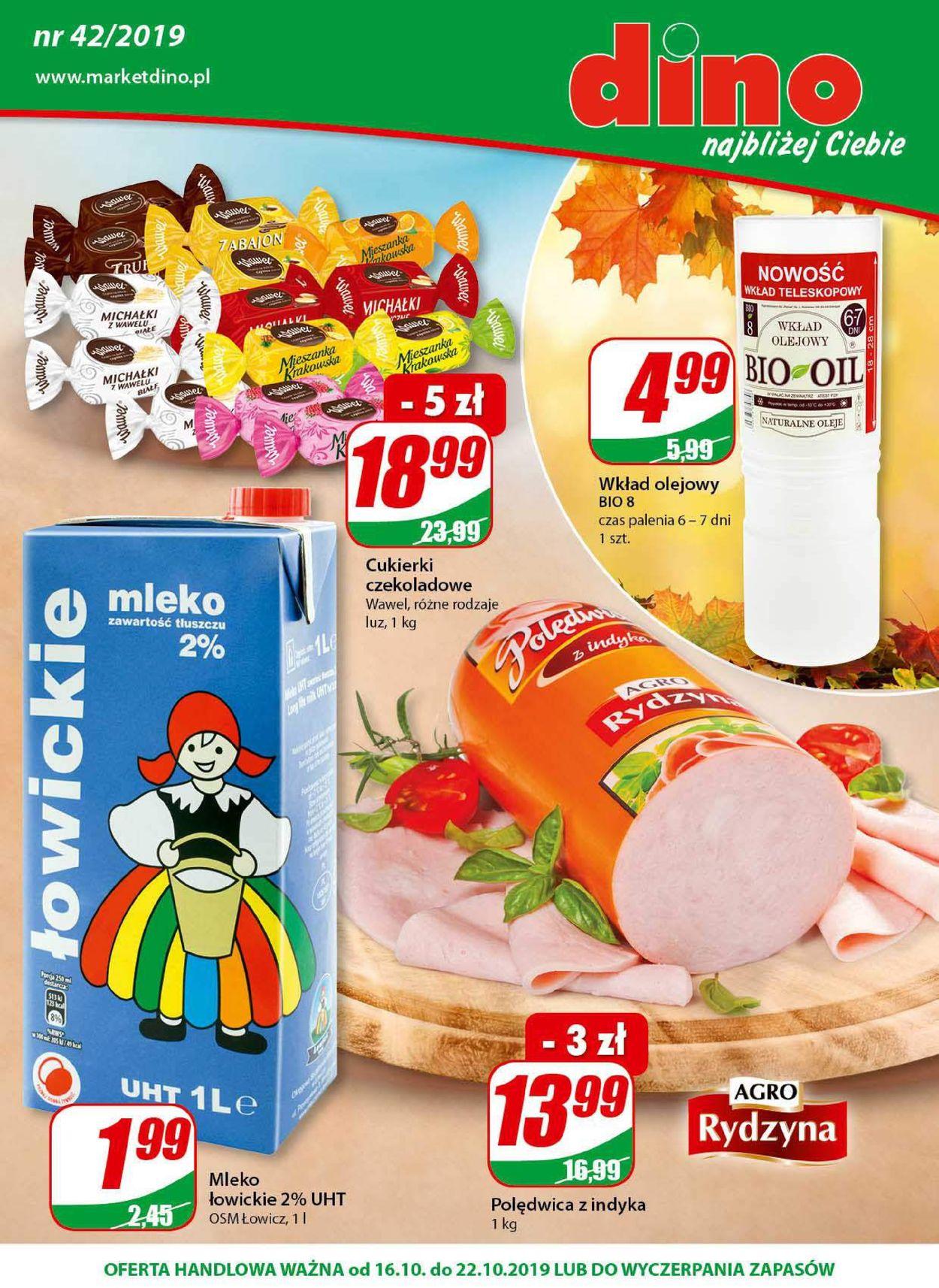 Gazetka promocyjna Dino - 16.10-22.10.2019