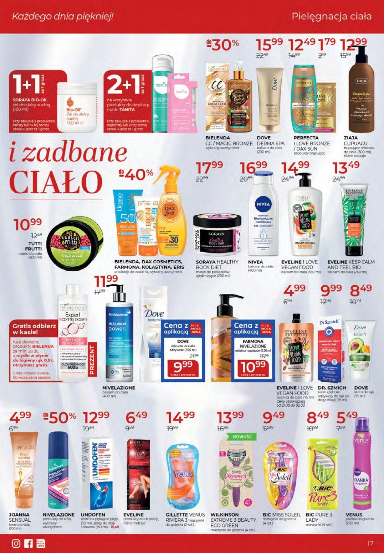 Gazetka promocyjna Drogerie Jawa - 06.08-02.09.2020 (Strona 7)