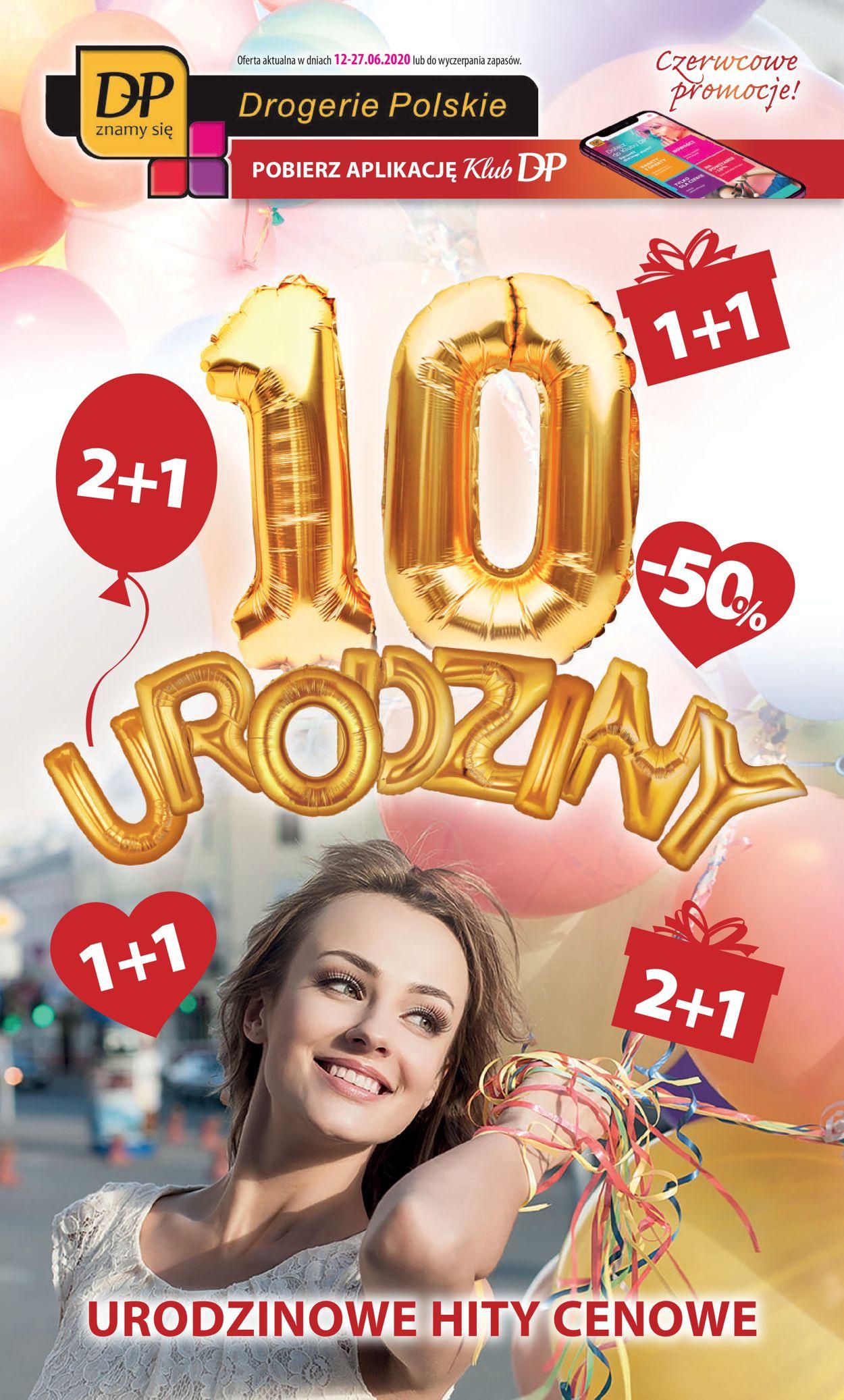 Gazetka promocyjna Drogerie Polskie - 12.06-27.06.2020