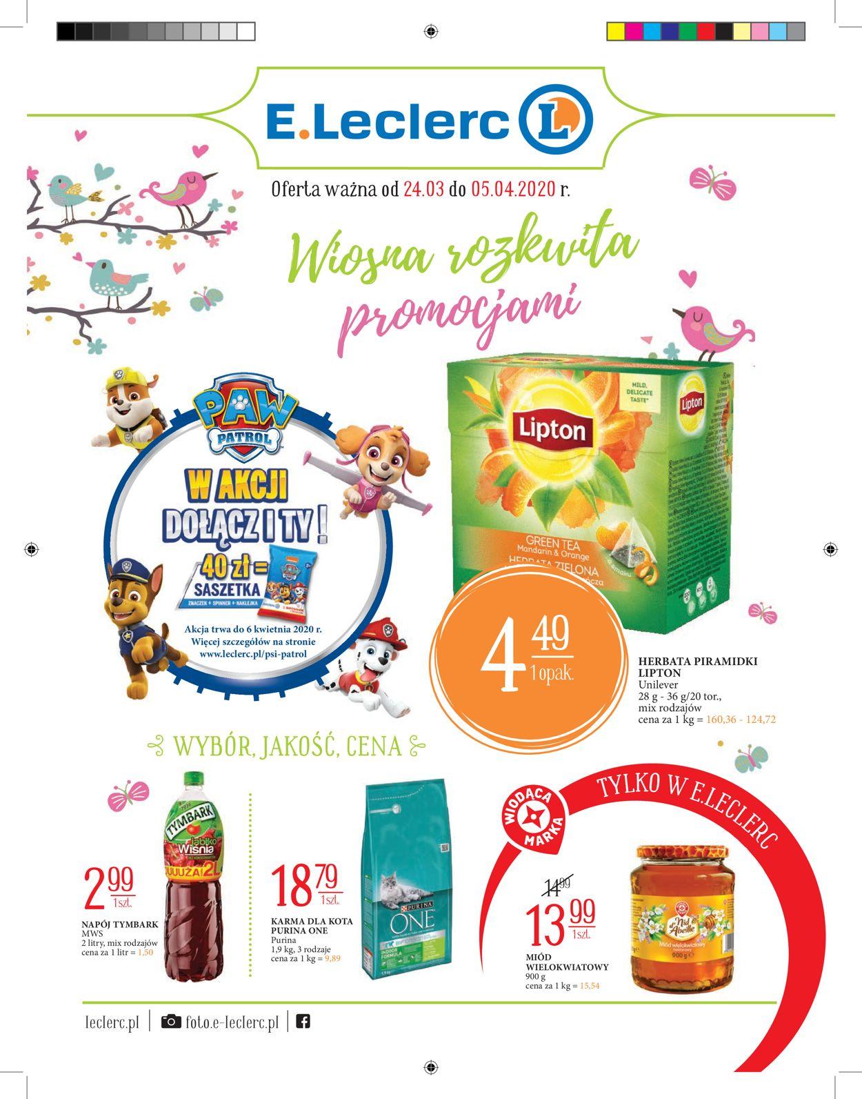 Gazetka promocyjna E.Leclerc - 23.03-05.04.2020