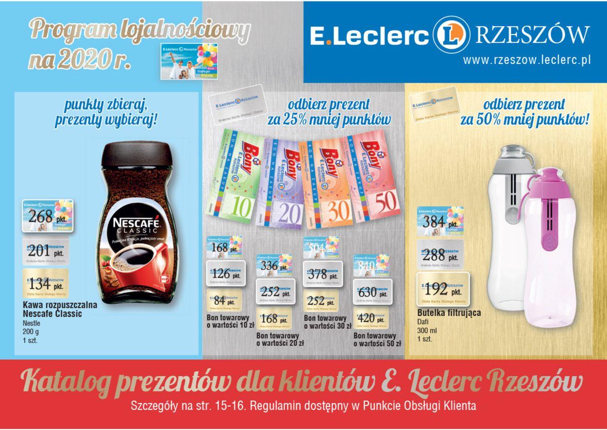 Gazetka promocyjna E.Leclerc - 15.05-31.12.2020