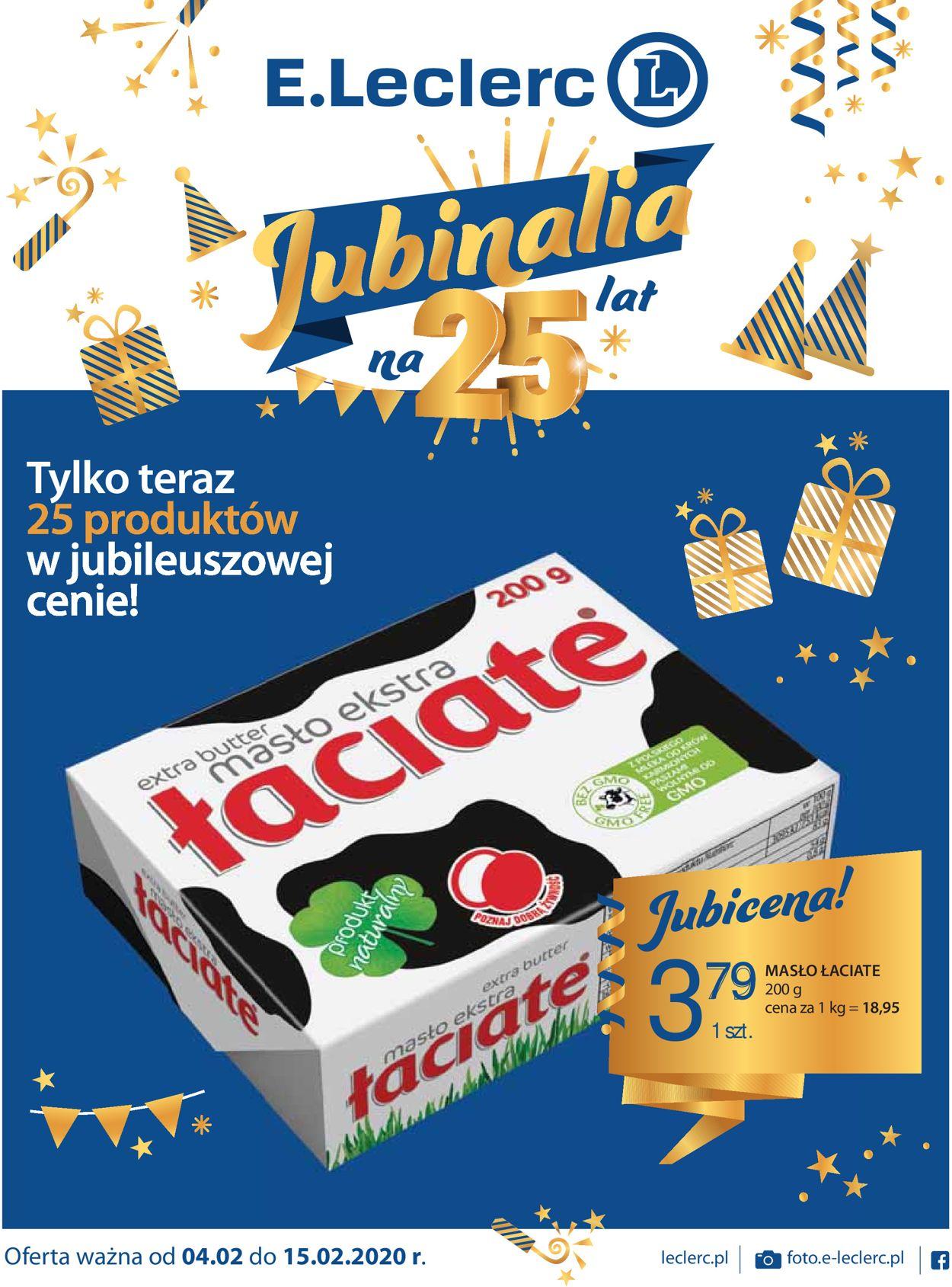 Gazetka promocyjna E.Leclerc - 04.02-15.02.2020