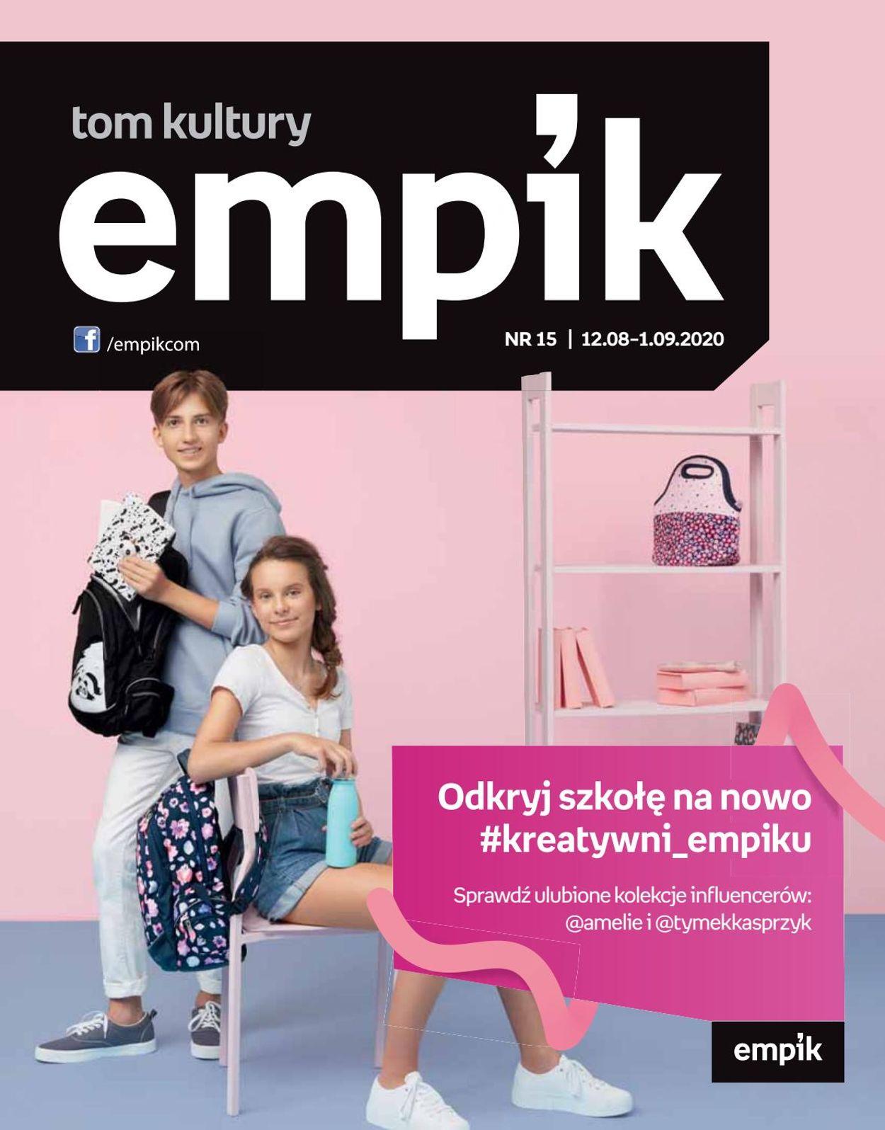 Gazetka promocyjna Empik - 12.08-01.09.2020