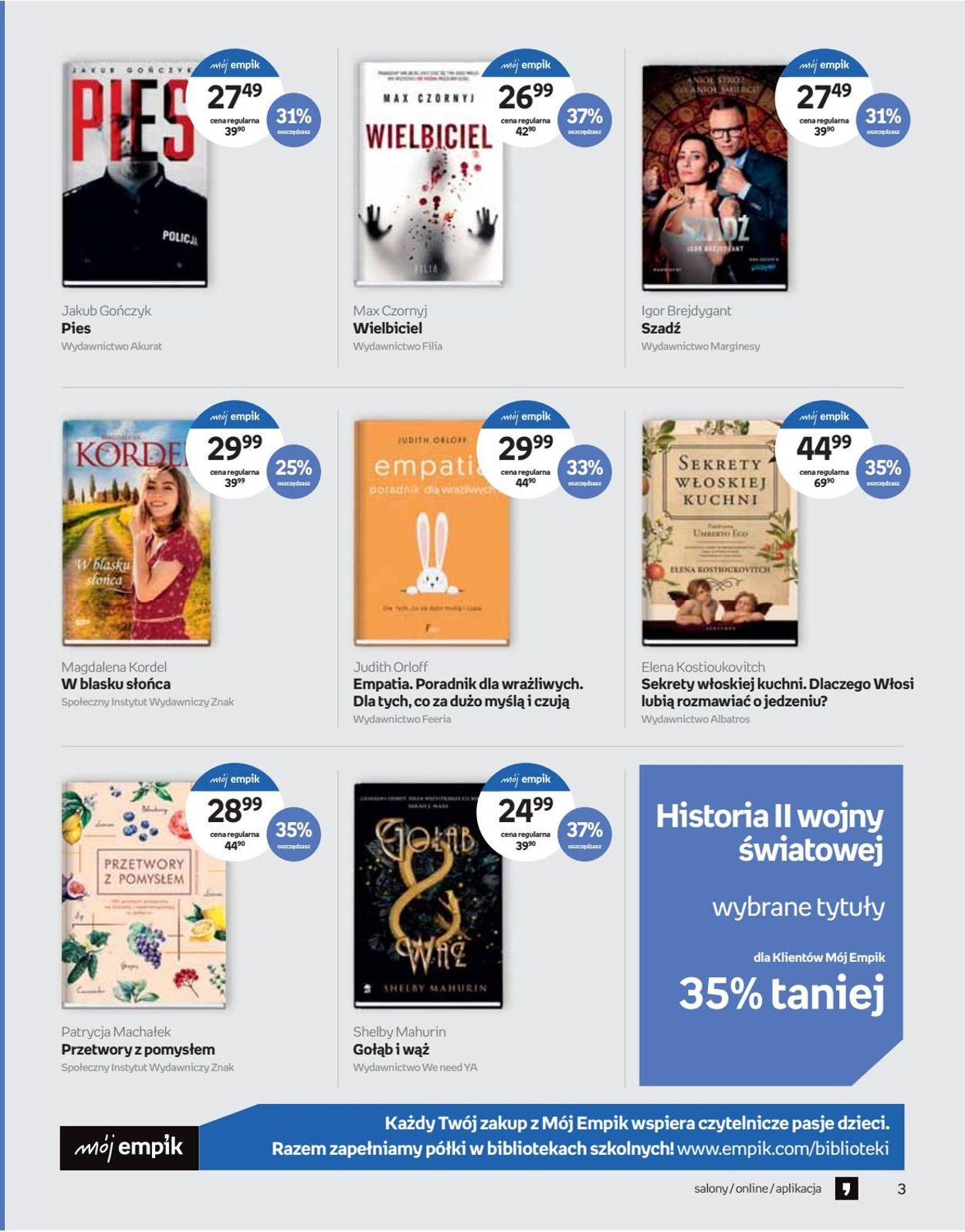 Gazetka promocyjna Empik - 12.08-01.09.2020 (Strona 3)