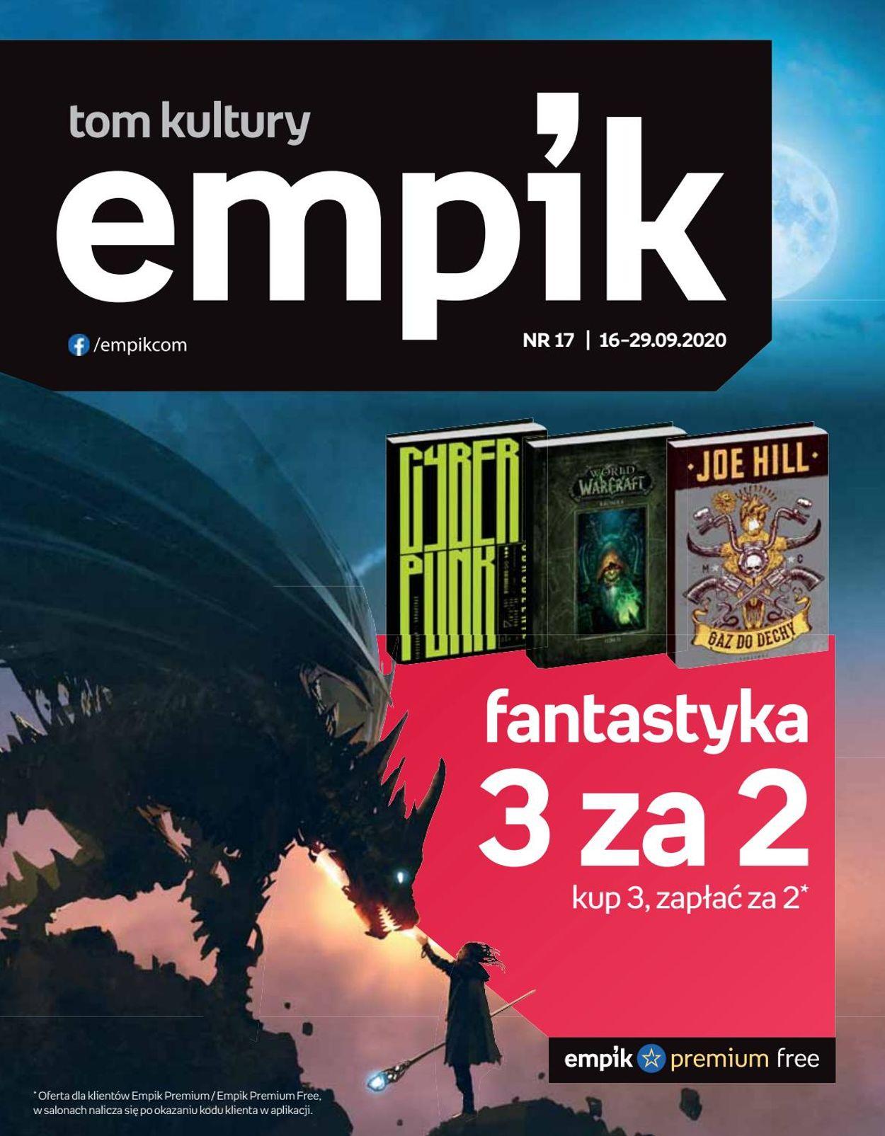 Gazetka promocyjna Empik - 16.09-29.09.2020