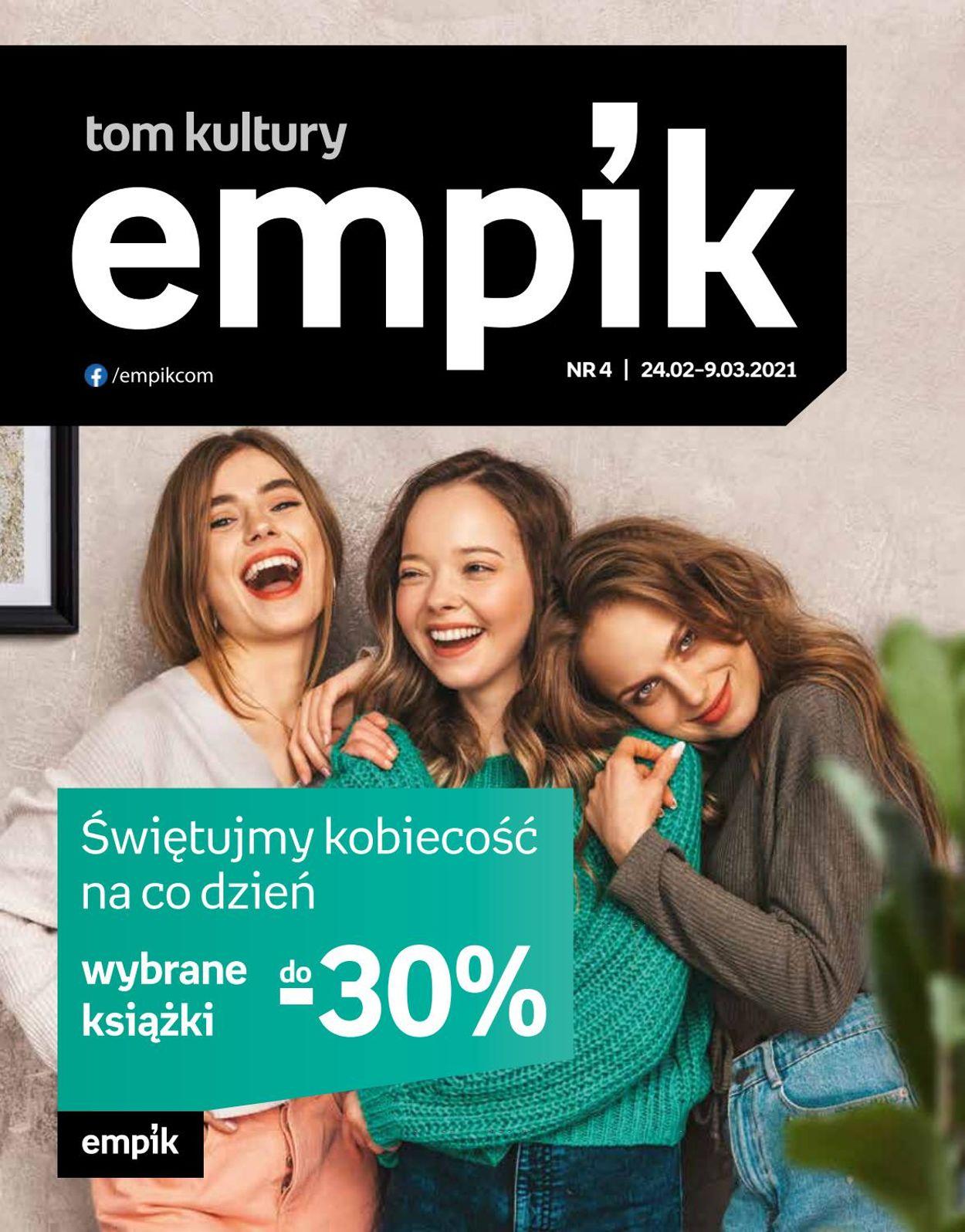 Gazetka promocyjna Empik Tom Kultury - 24.02-09.03.2021