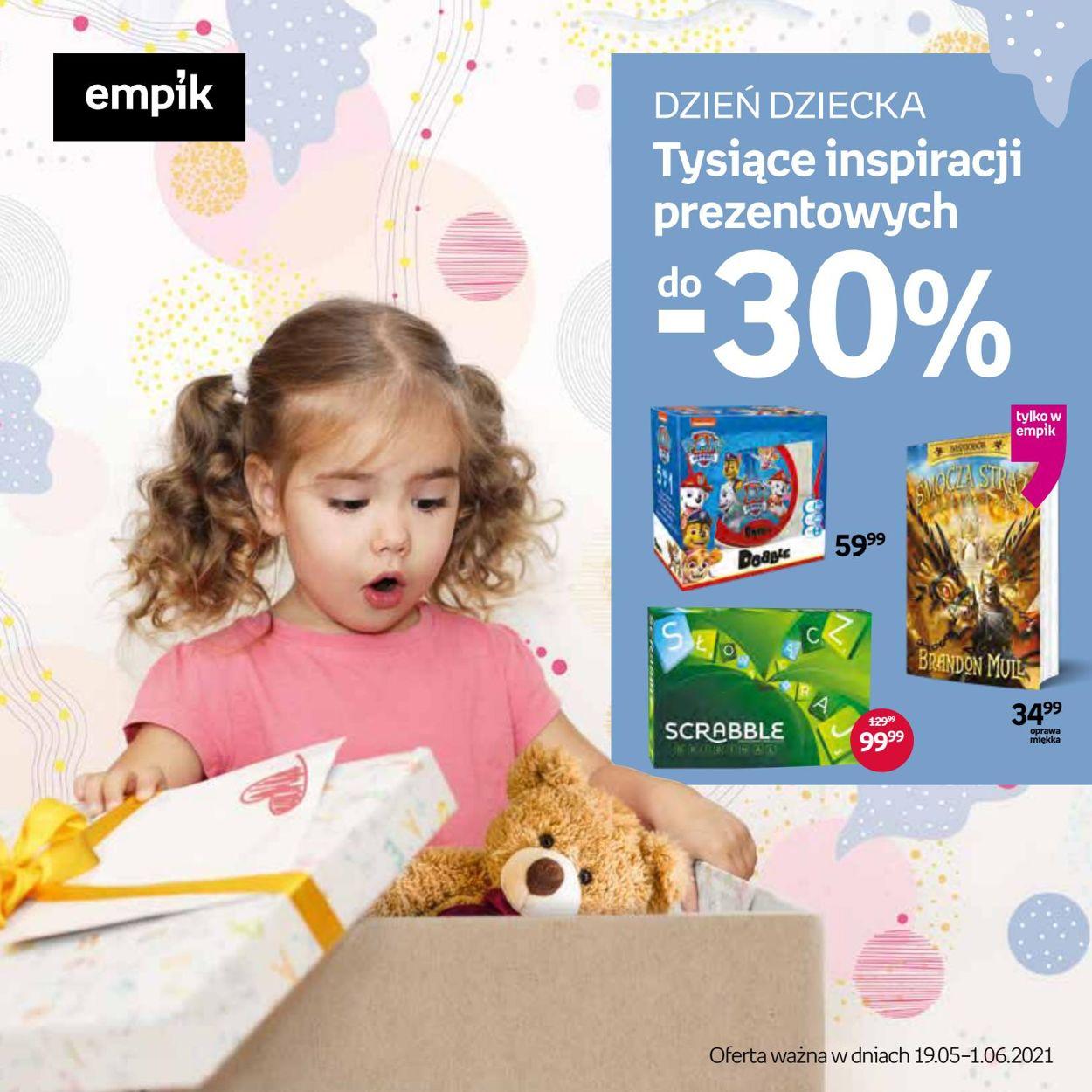 Gazetka promocyjna Empik - 19.05-01.06.2021