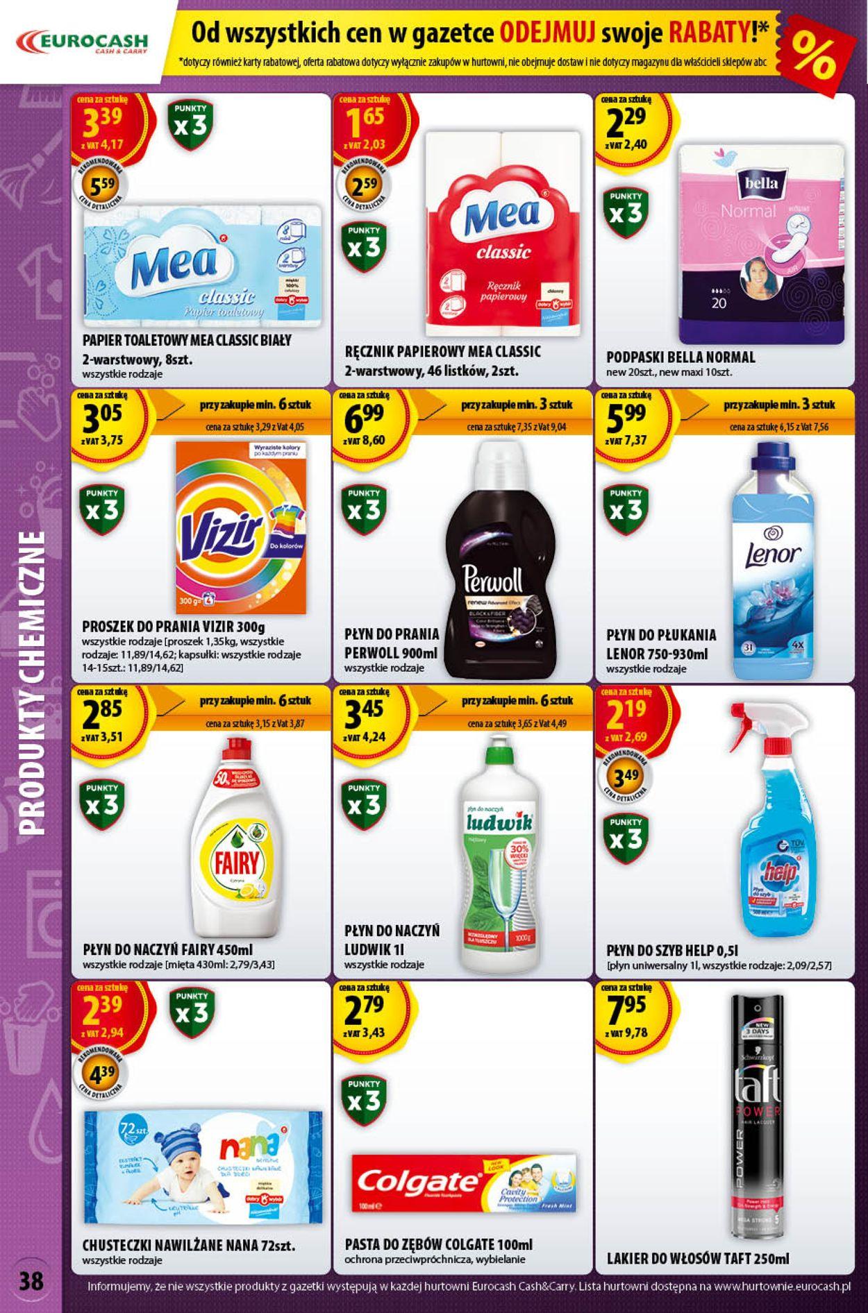 Gazetka promocyjna Eurocash - 26.07-09.08.2020 (Strona 38)