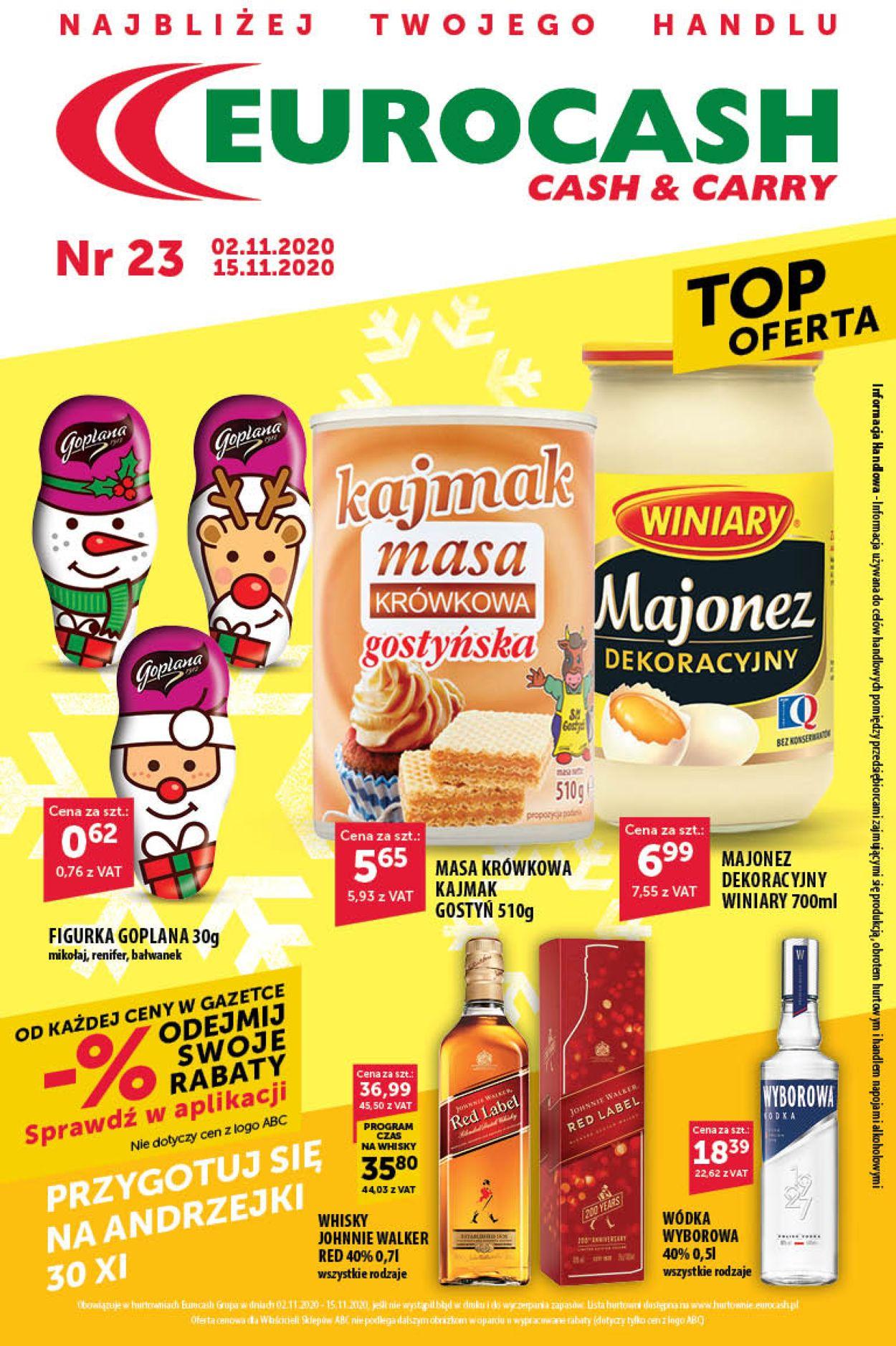 Gazetka promocyjna Eurocash - 02.11-15.11.2020