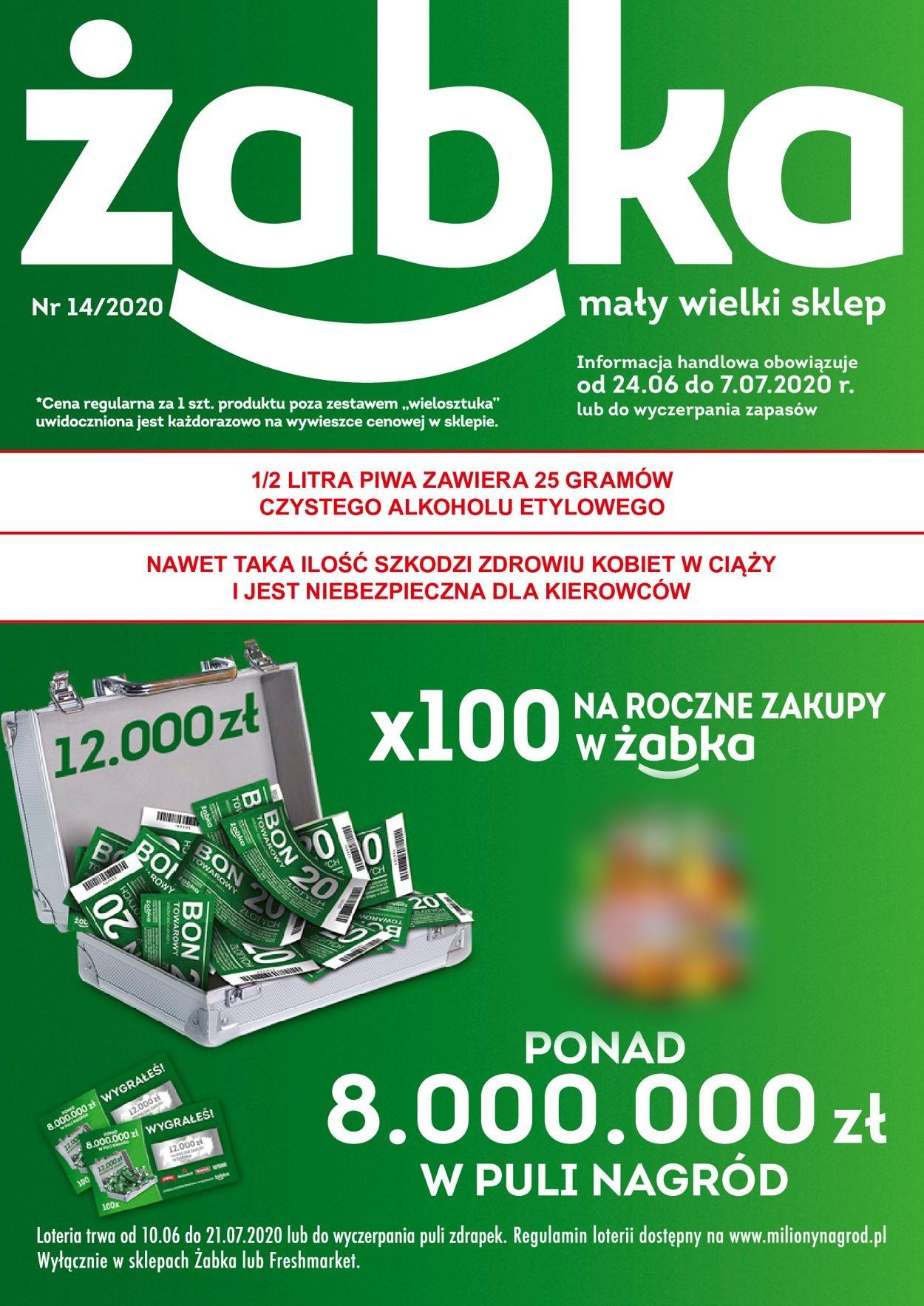Gazetka promocyjna Fresh market - 24.06-07.07.2020