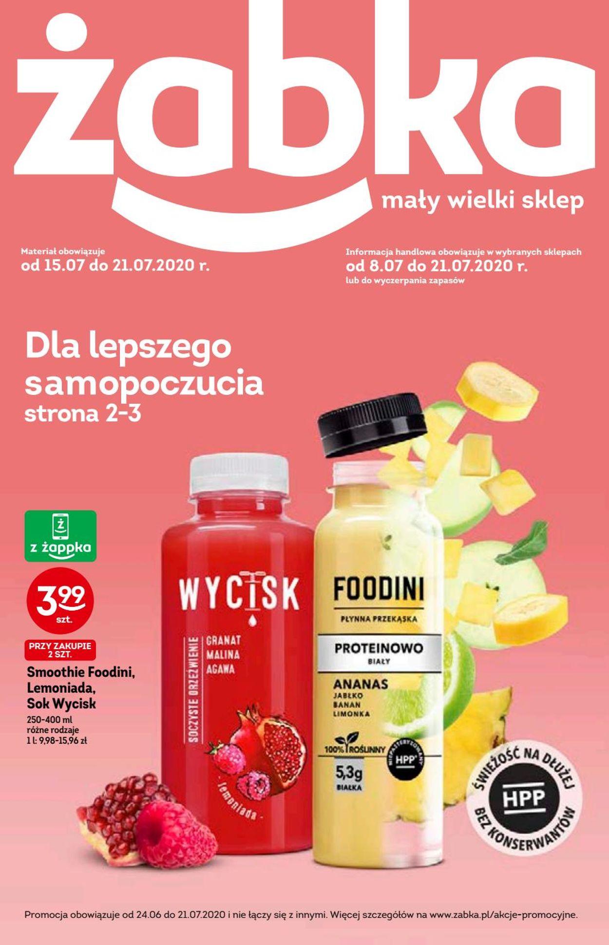 Gazetka promocyjna Fresh market - 15.07-21.07.2020