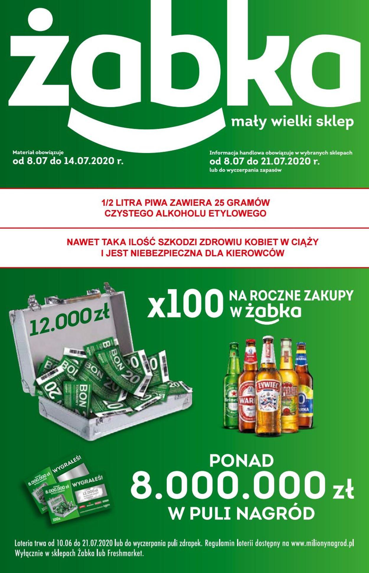 Gazetka promocyjna Fresh market - 08.07-14.07.2020