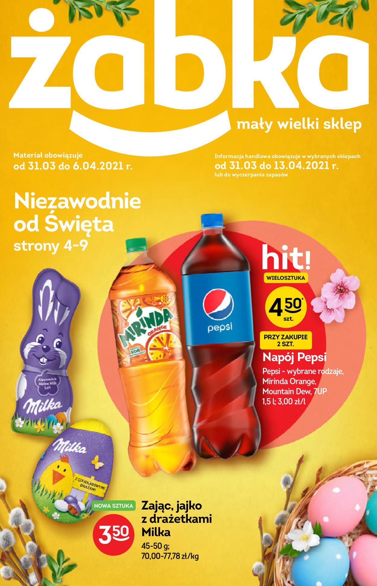 Gazetka promocyjna Fresh market Wielkanoc 2021! - 31.03-06.04.2021