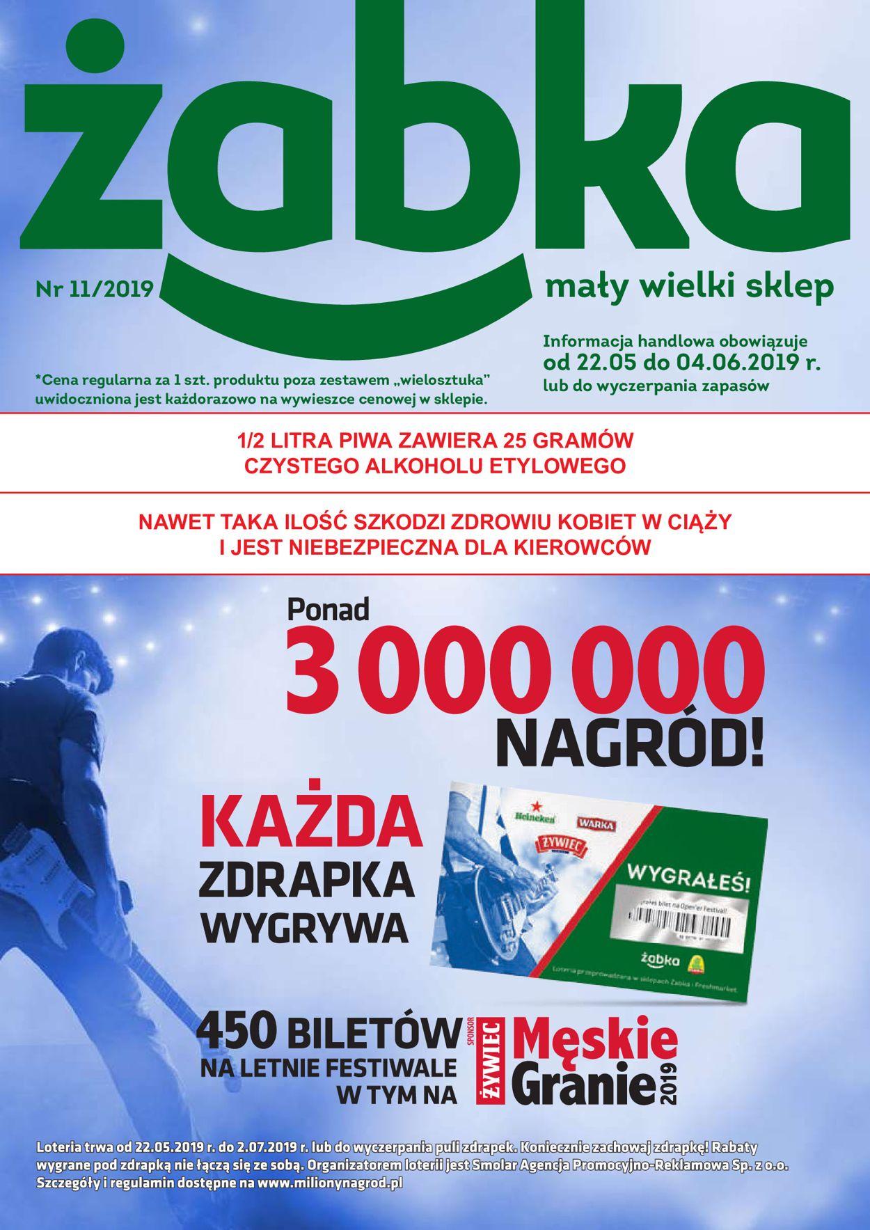 Gazetka promocyjna Fresh market - 22.05-04.06.2019