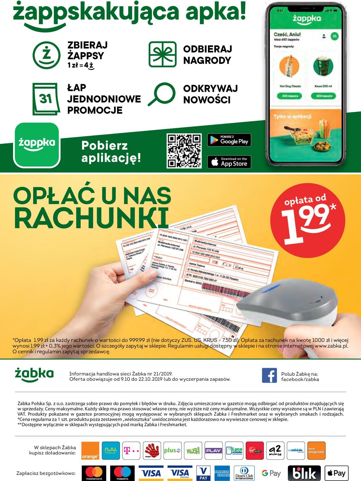 Gazetka promocyjna Fresh market - 09.10-22.10.2019 (Strona 24)