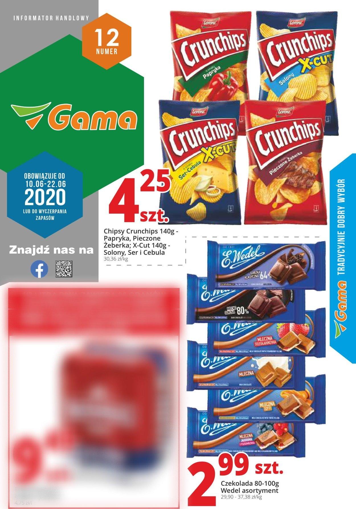 Gazetka promocyjna Gama - 18.06-29.06.2020