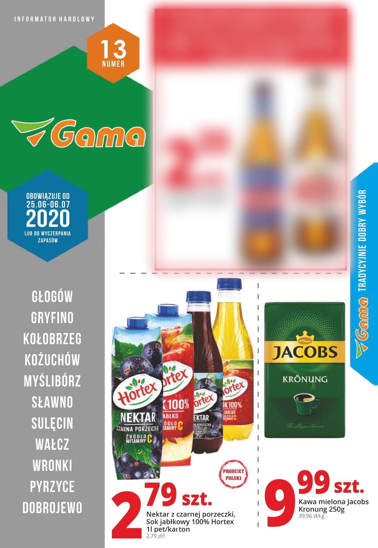 Gazetka promocyjna Gama - 25.06-06.07.2020
