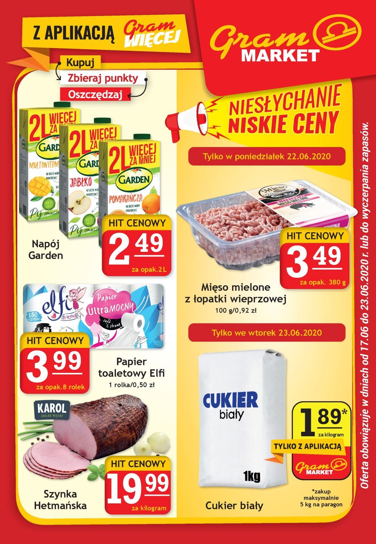 Gazetka promocyjna Gram Market - 17.06-23.06.2020