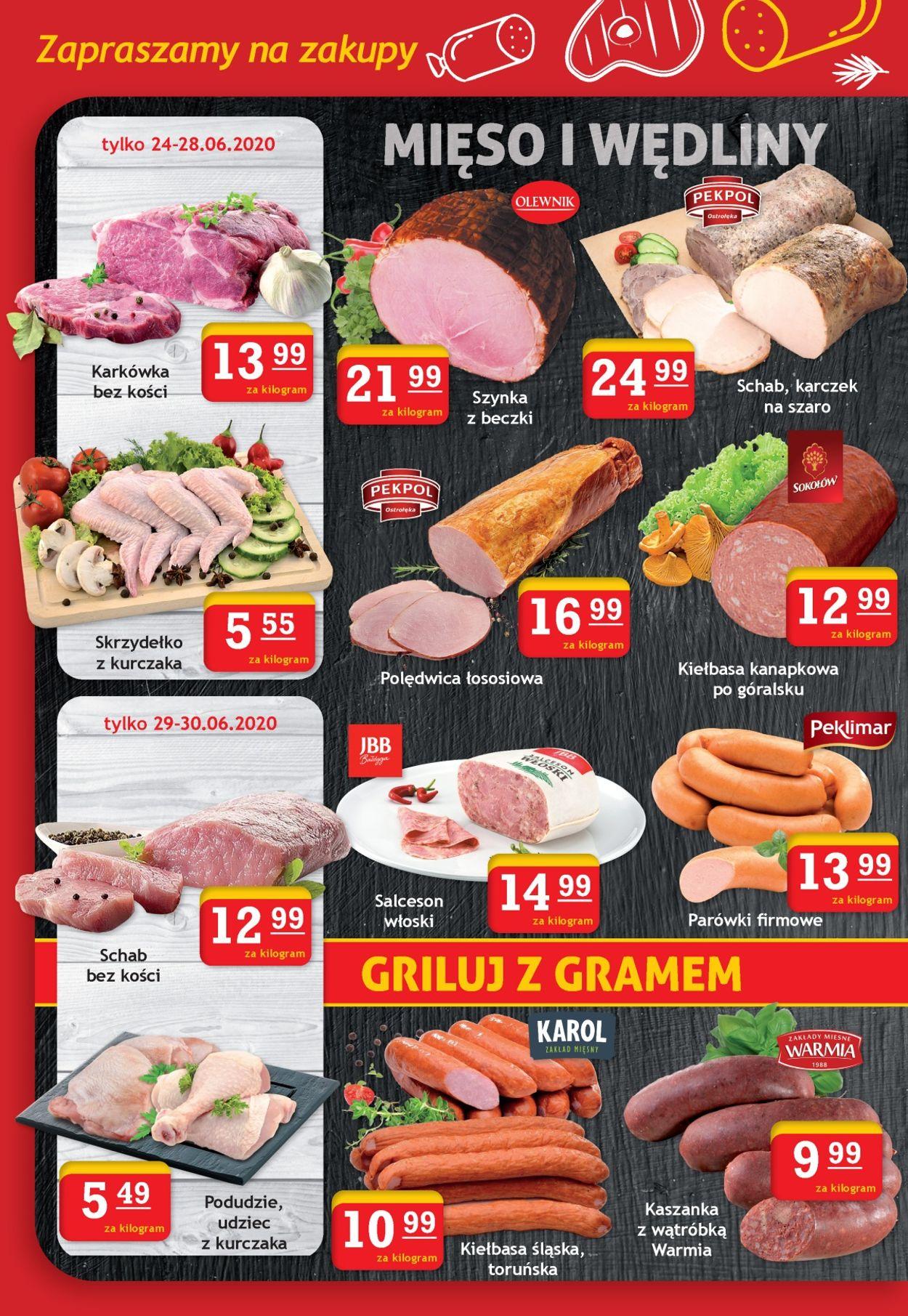 Gazetka promocyjna Gram Market - 24.06-30.06.2020 (Strona 2)