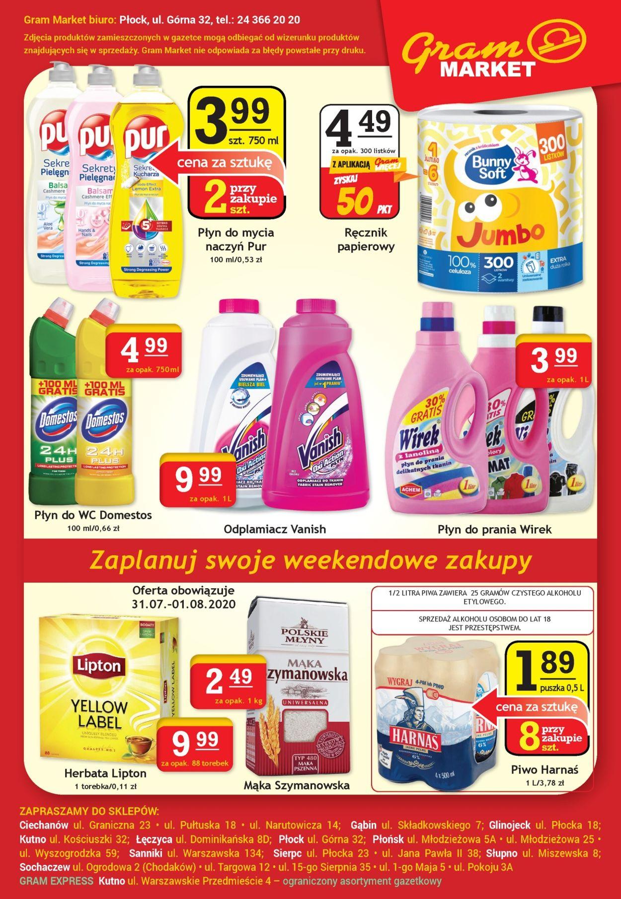 Gazetka promocyjna Gram Market - 29.07-04.08.2020 (Strona 8)