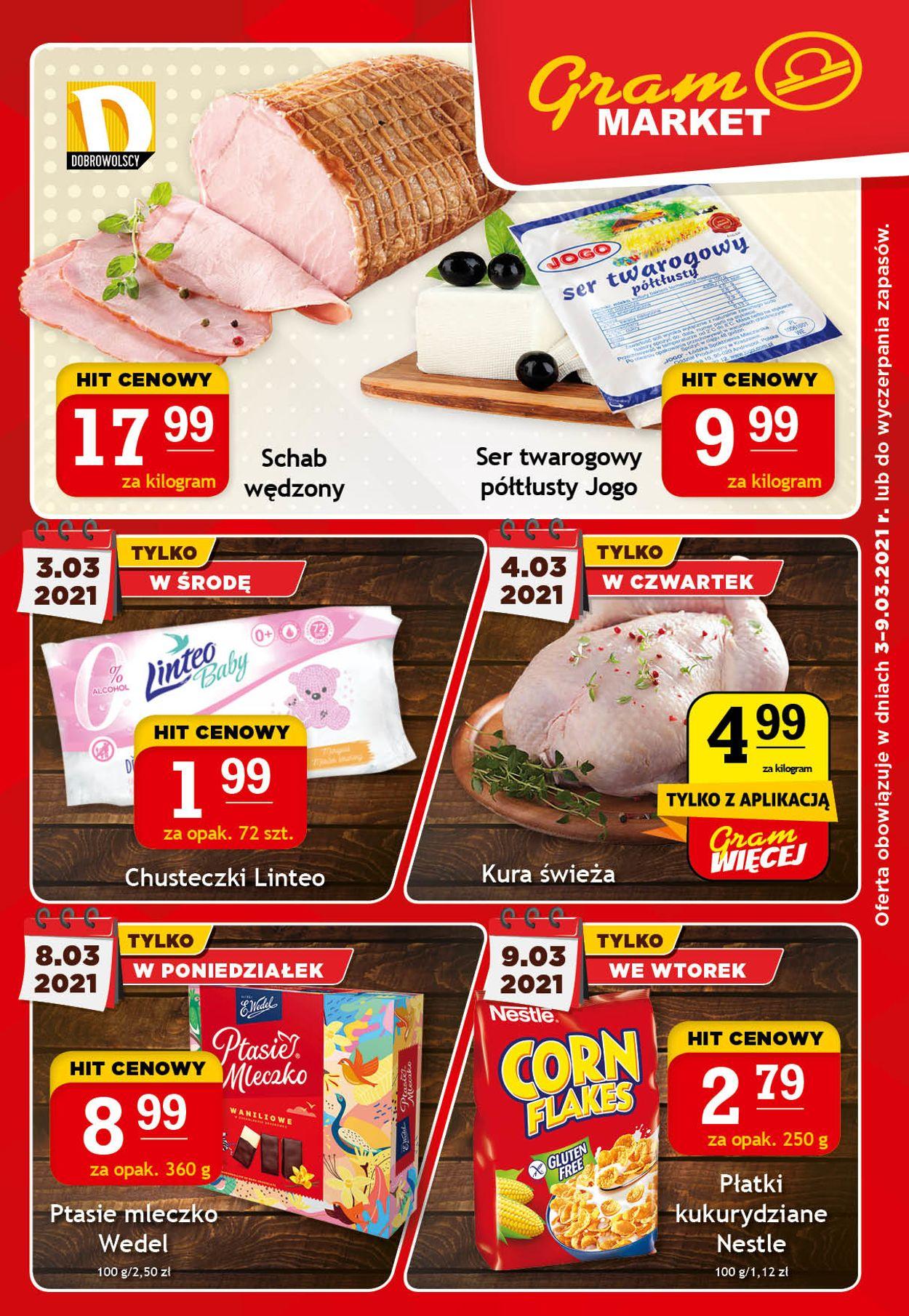 Gazetka promocyjna Gram Market - 03.03-09.03.2021
