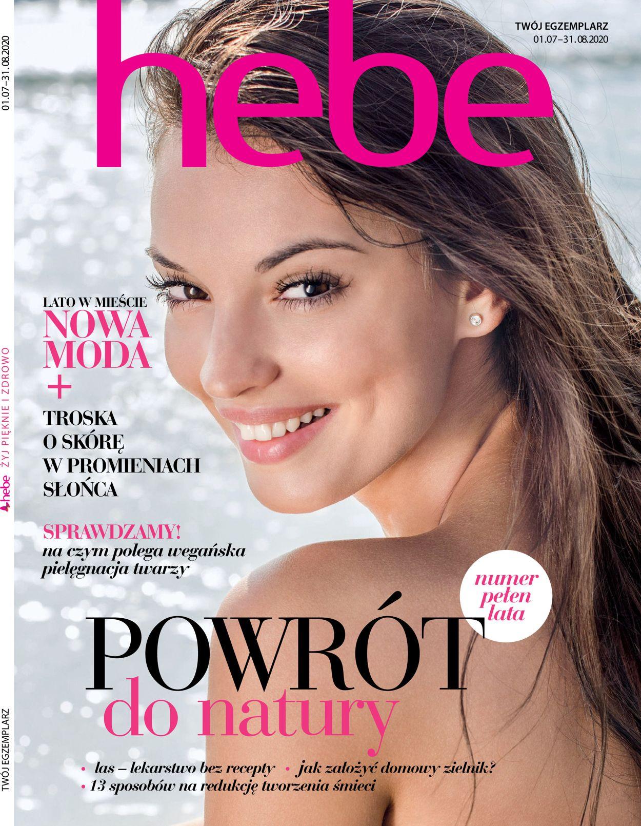 Gazetka promocyjna Hebe - 01.07-31.08.2020