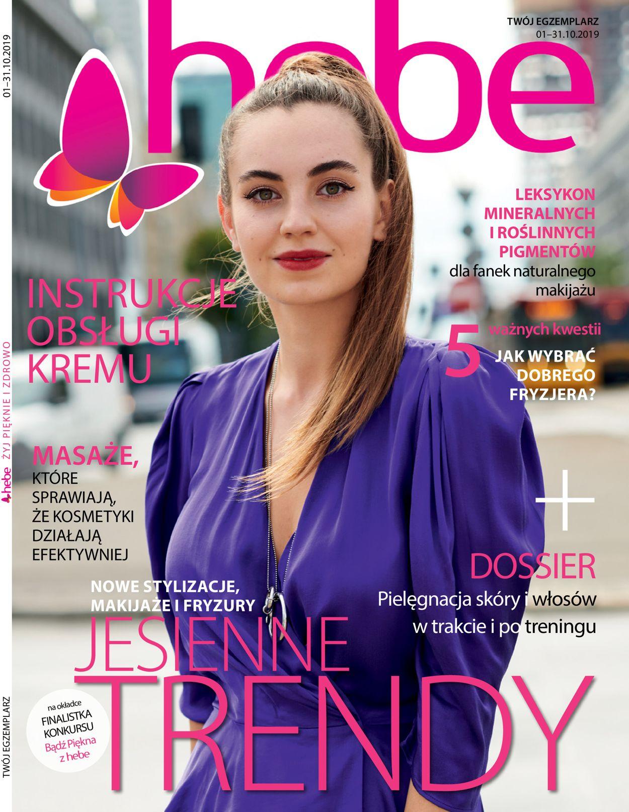 Gazetka promocyjna Hebe - 01.10-31.10.2019