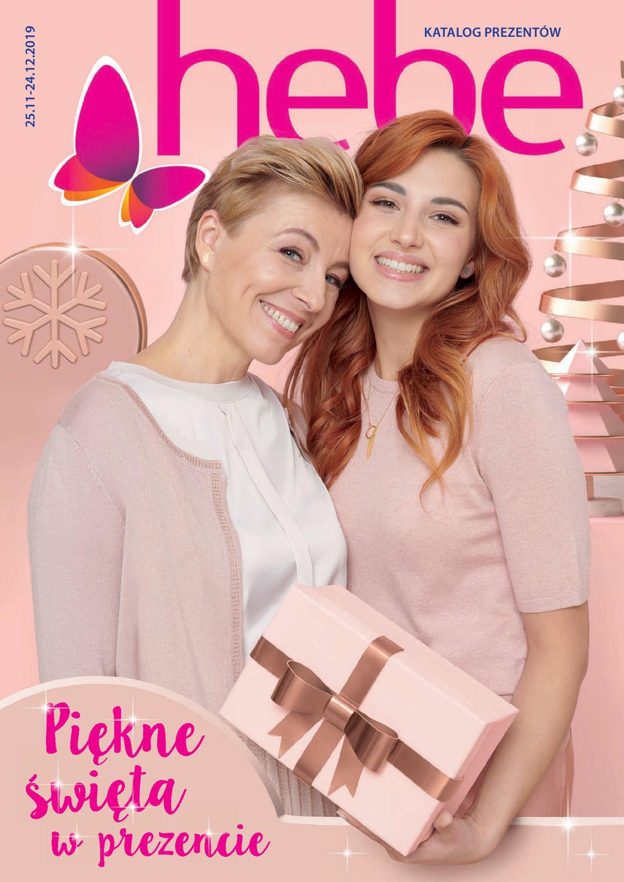 Gazetka promocyjna Hebe - Katalog Świąteczny 2019 - 25.11-24.12.2019