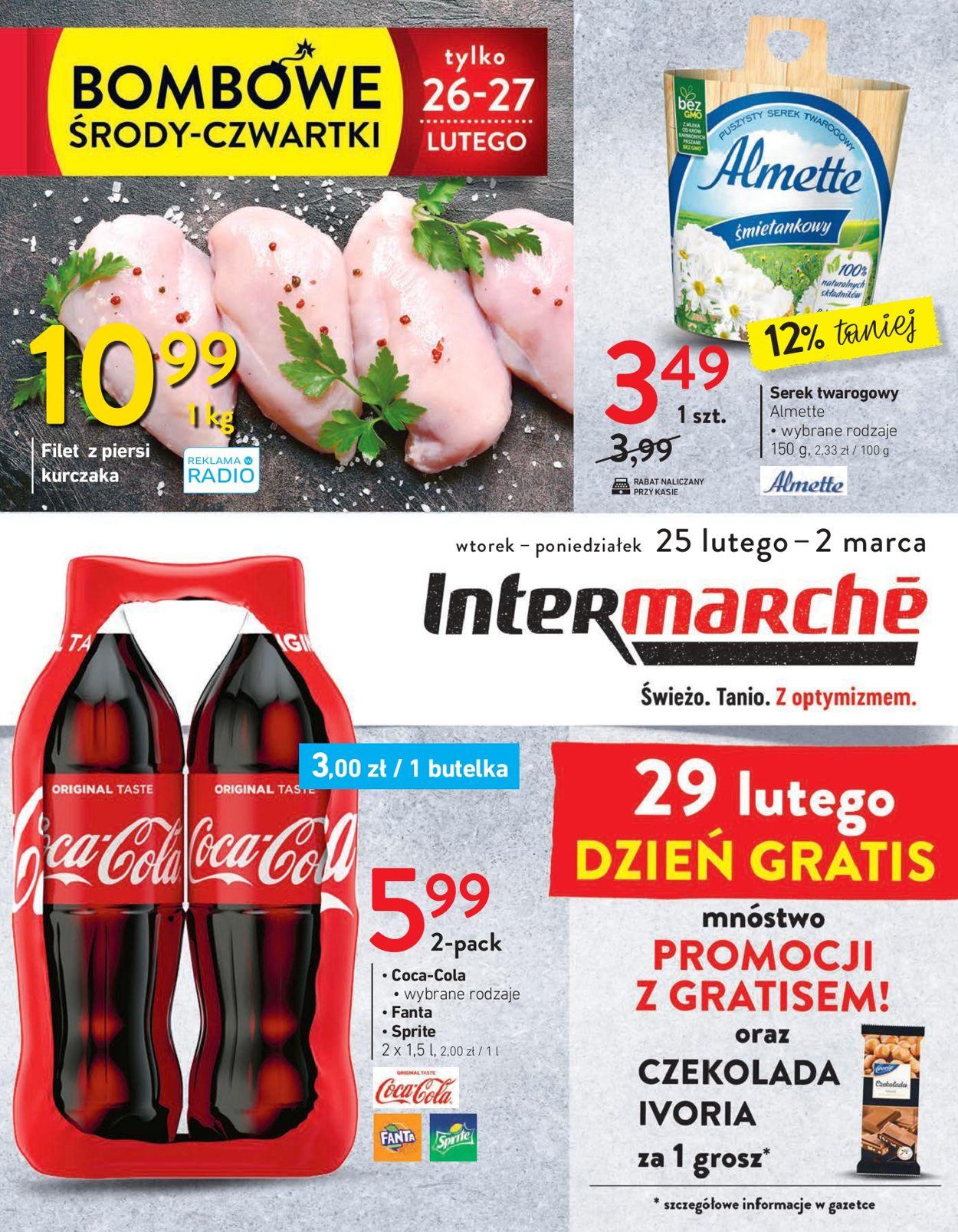 Gazetka promocyjna Intermarché - 25.02-02.03.2020