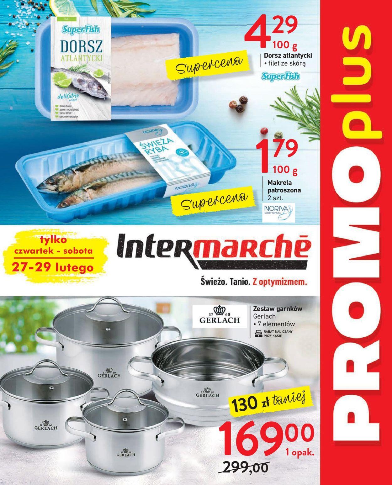 Gazetka promocyjna Intermarché - 27.02-29.02.2020