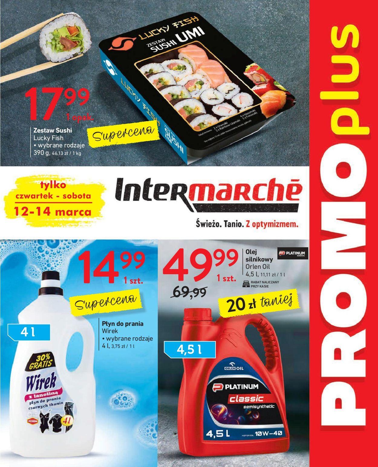Gazetka promocyjna Intermarché - 12.03-14.03.2020